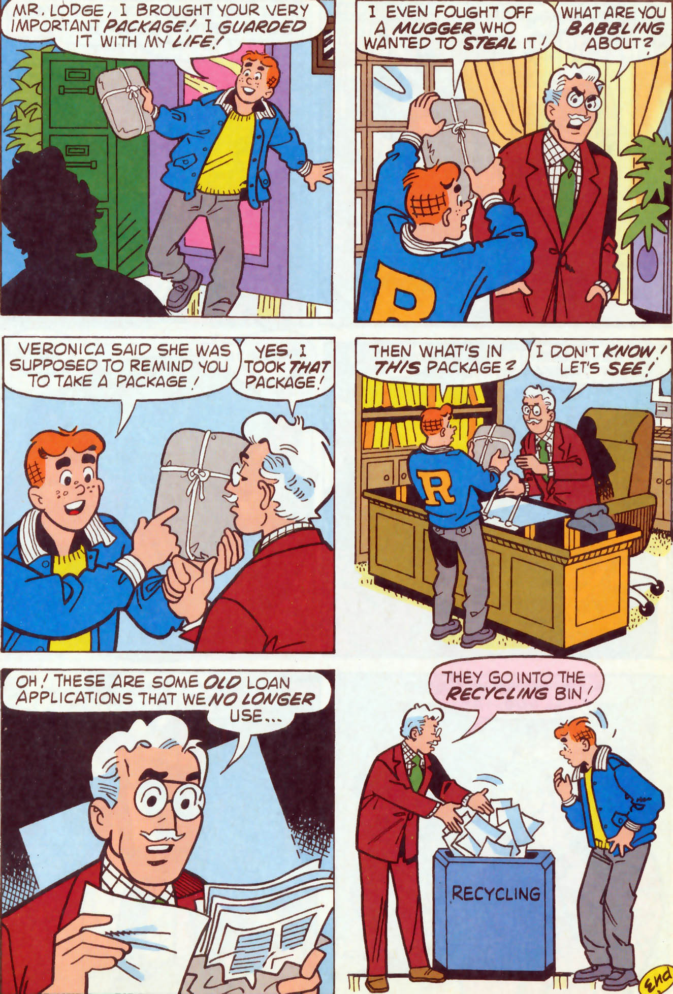 Read online Archie (1960) comic -  Issue #459 - 7