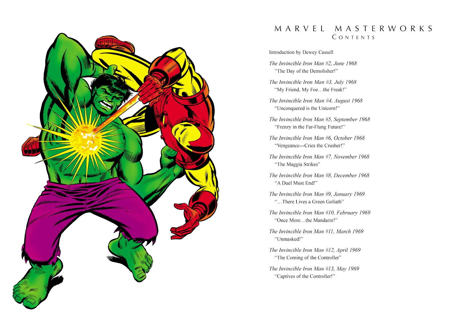 Read online Marvel Masterworks: The Invincible Iron Man comic -  Issue # TPB 5 (Part 1) - 4