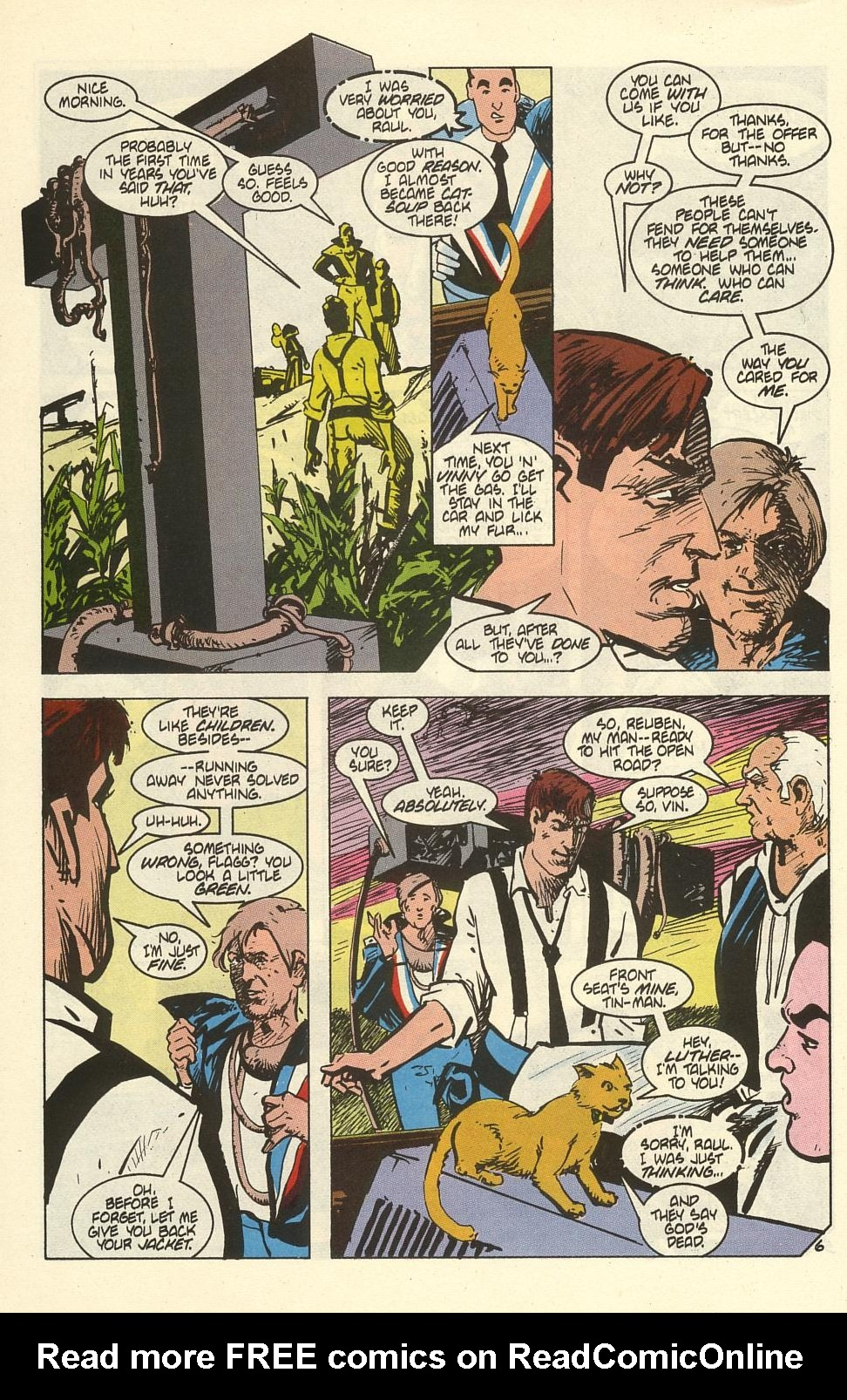 Read online American Flagg! comic -  Issue #41 - 8