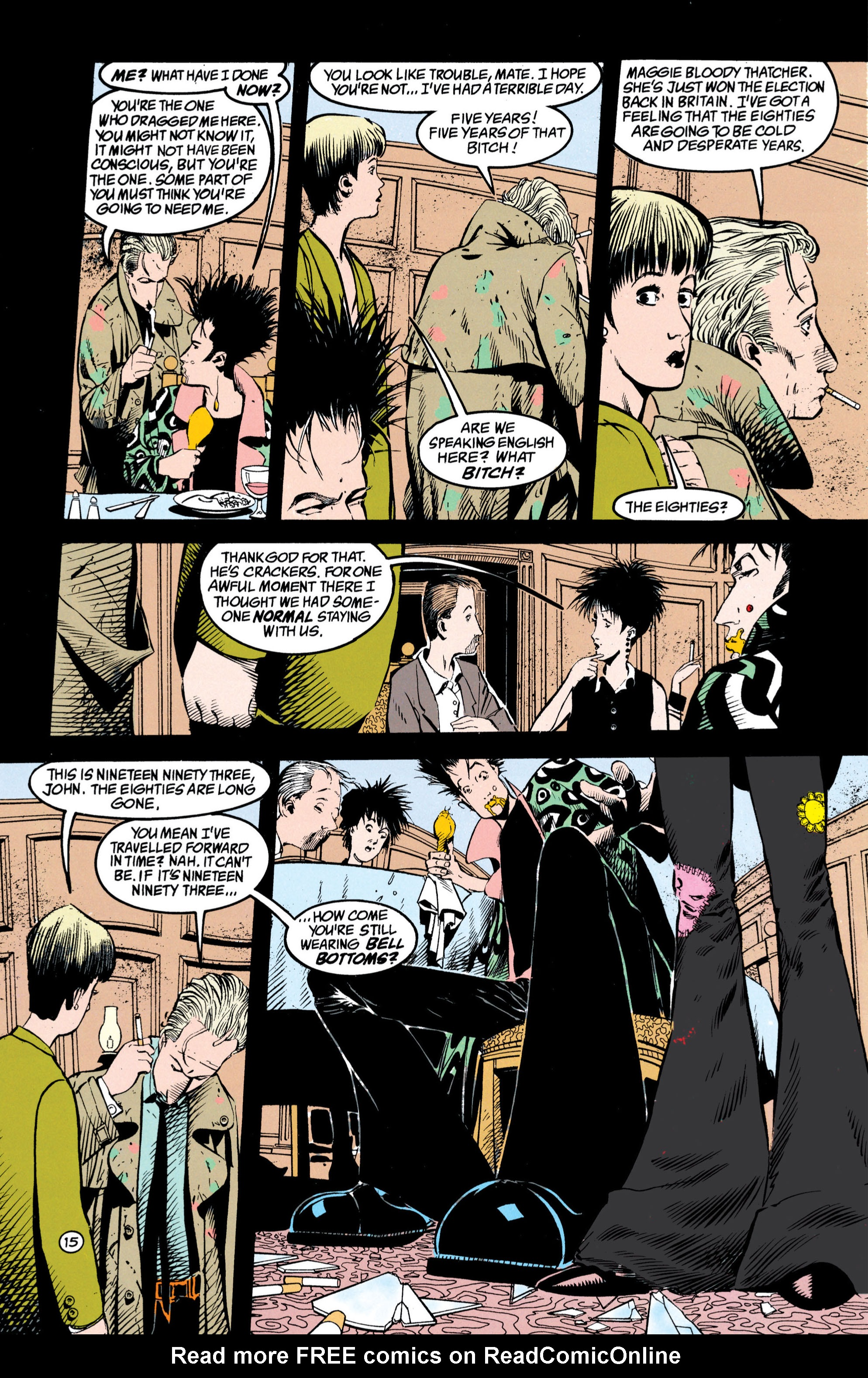 Read online Shade, the Changing Man comic -  Issue #42 - 16