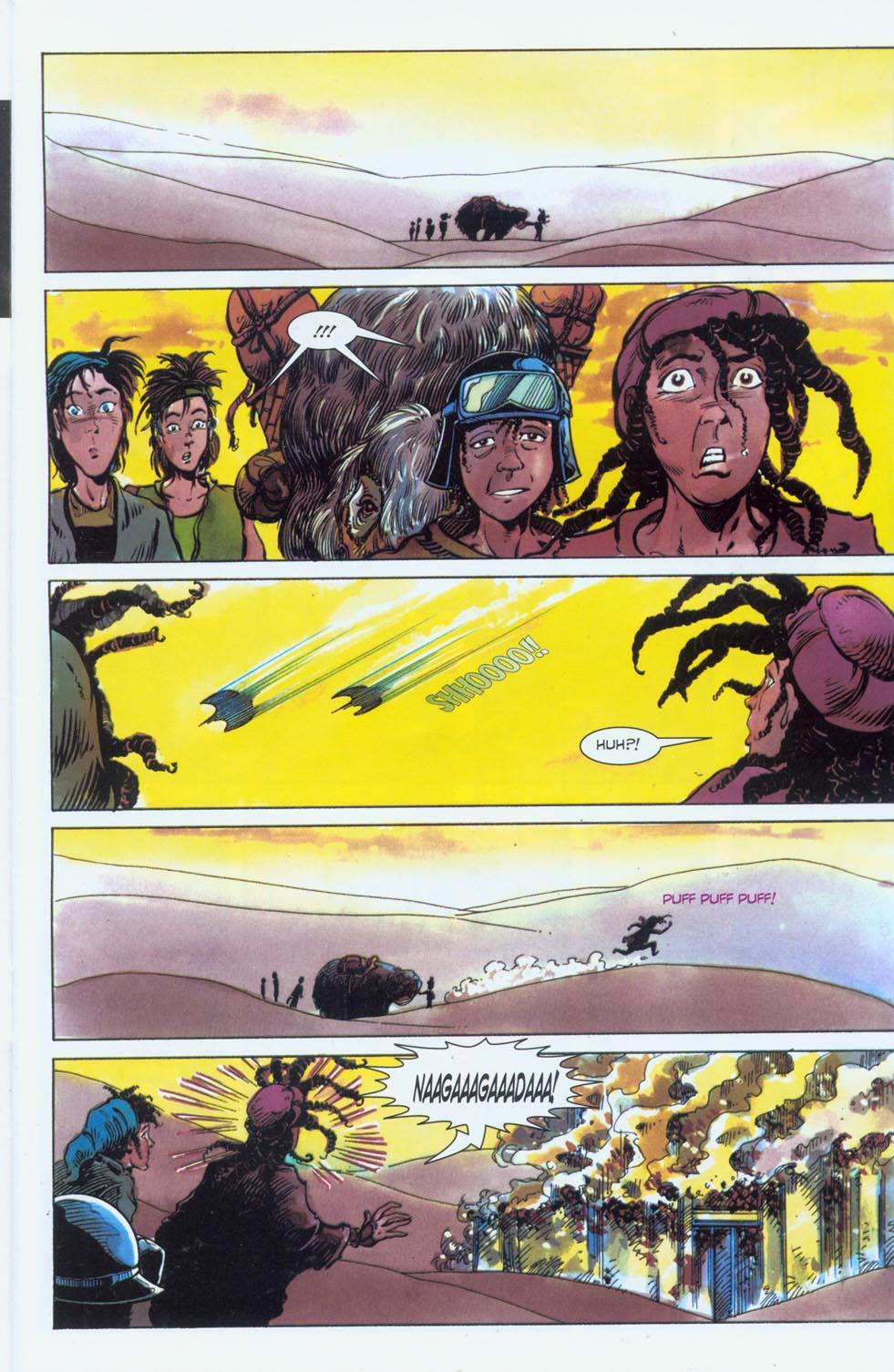 Read online Stargate comic -  Issue #3 - 10