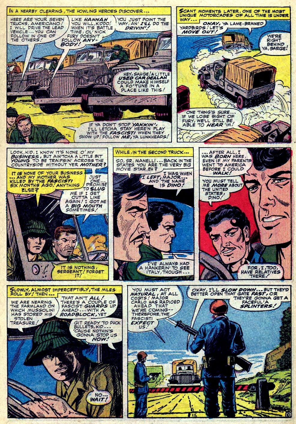 Read online Sgt. Fury comic -  Issue #30 - 15