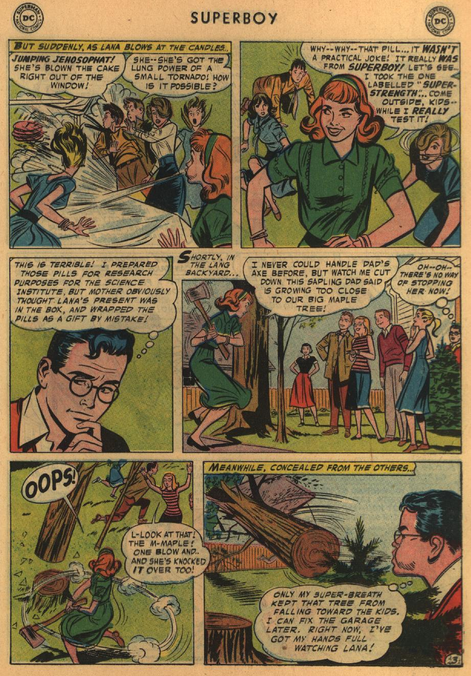 Superboy (1949) issue 64 - Page 13