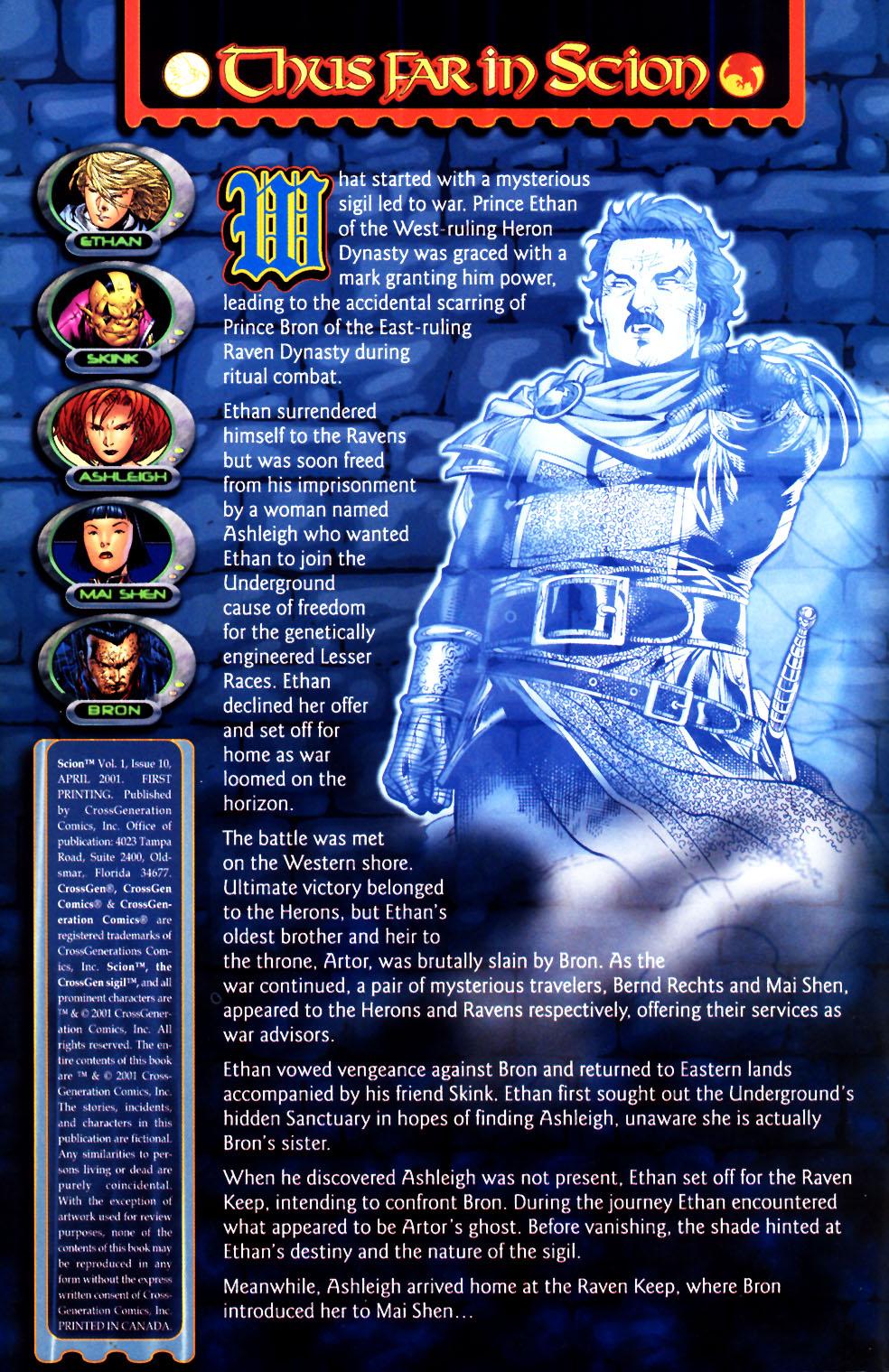 Read online Scion comic -  Issue #11 - 2