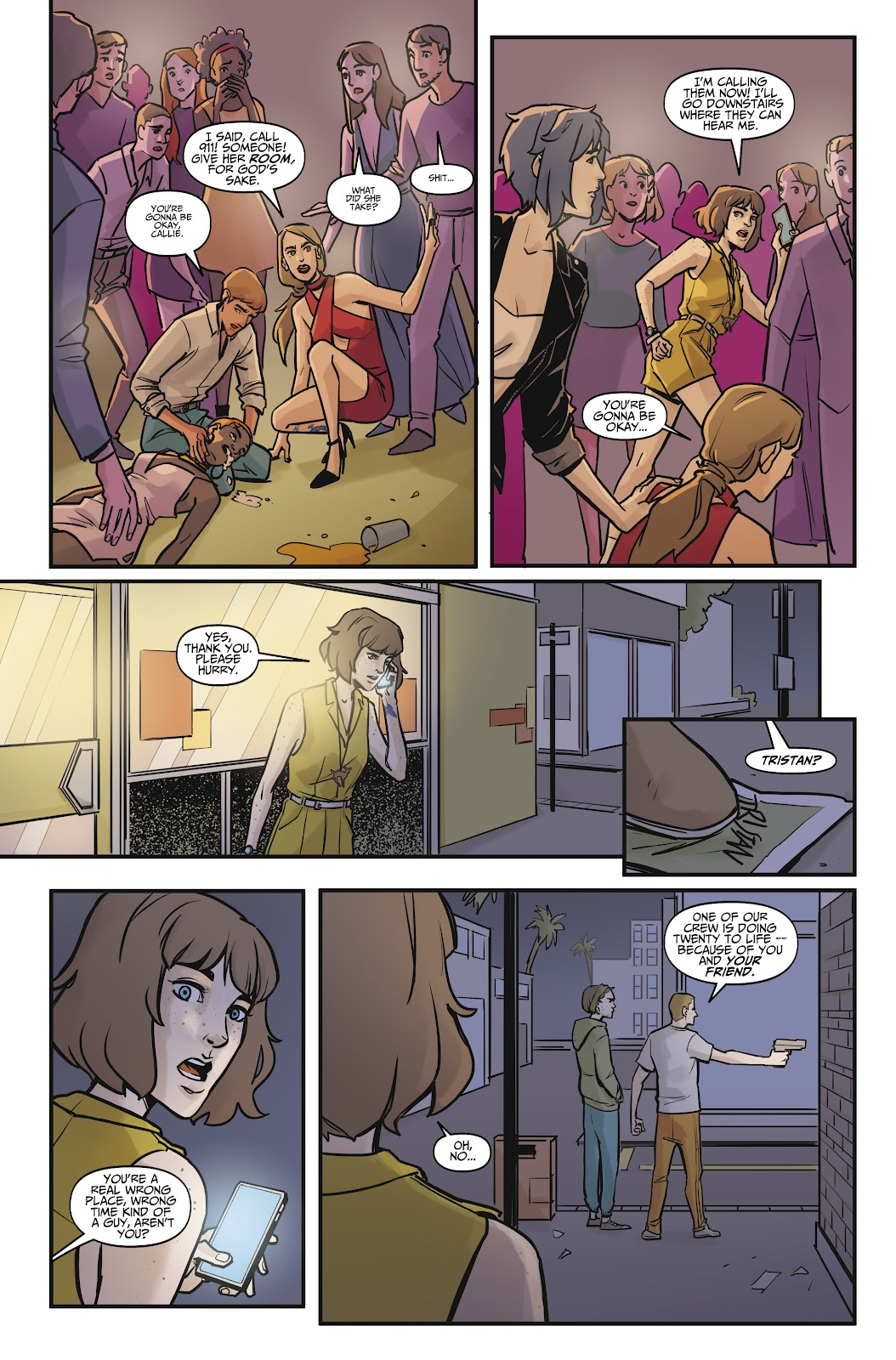 Read online Life is Strange comic -  Issue #7 - 27