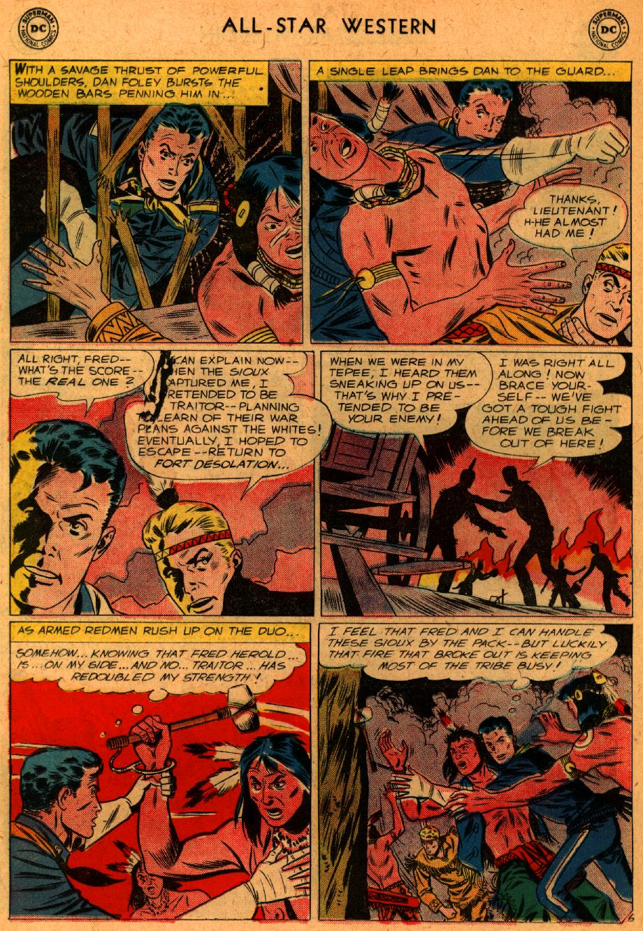 Read online All-Star Western (1951) comic -  Issue #107 - 20