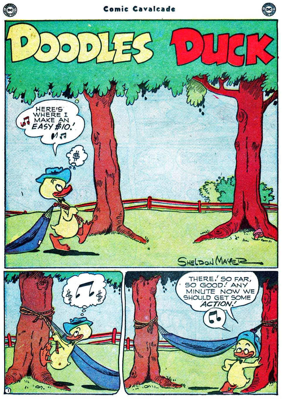 Comic Cavalcade issue 40 - Page 38