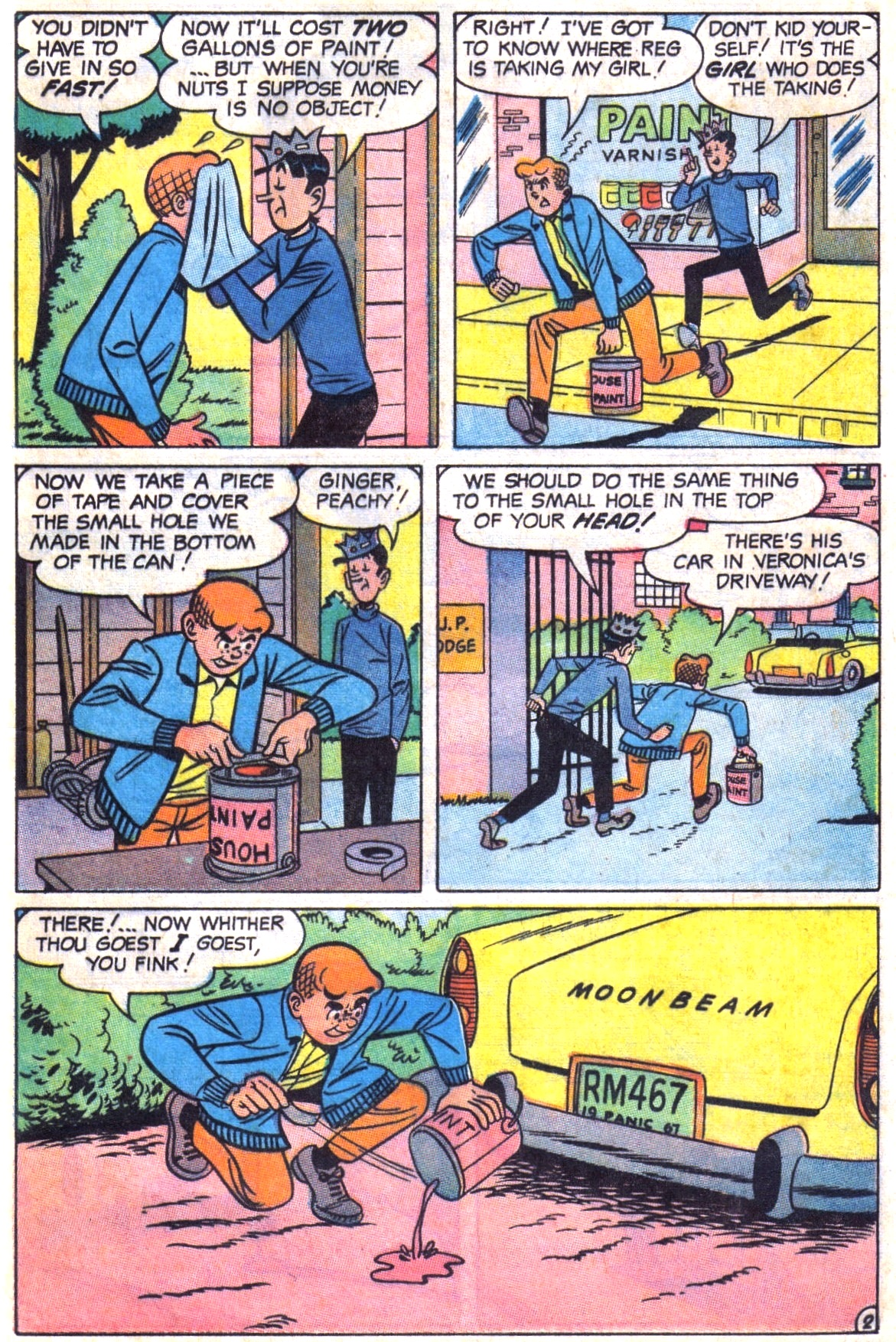 Read online Archie (1960) comic -  Issue #179 - 29