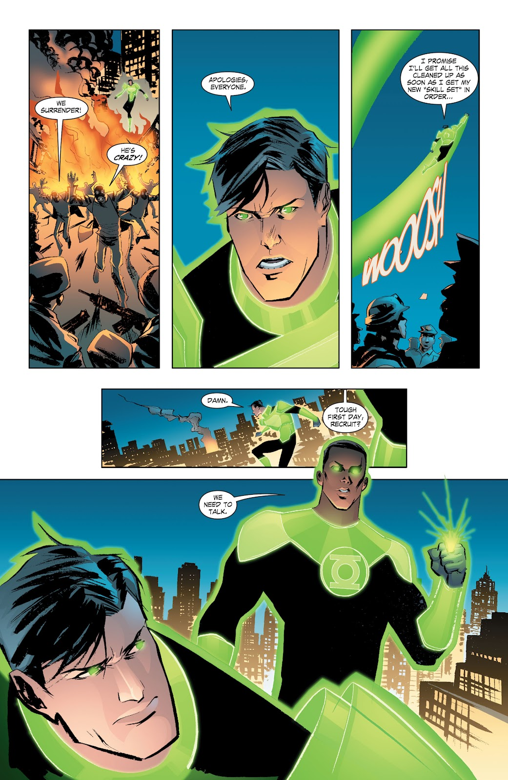 Read online Smallville Season 11 [II] comic -  Issue # TPB 7 - 25
