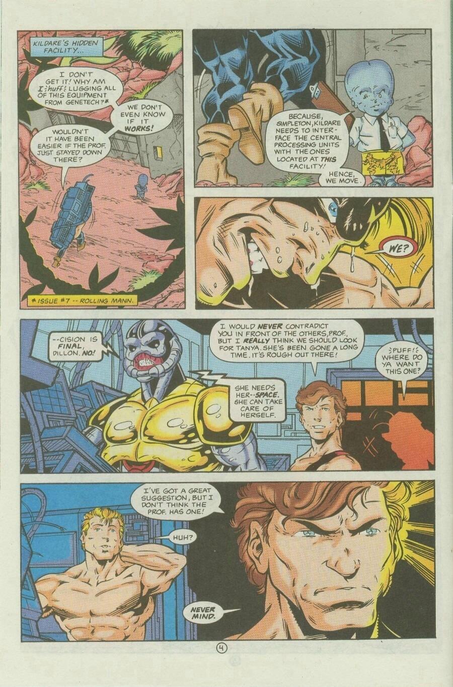 Read online Ex-Mutants comic -  Issue #9 - 6