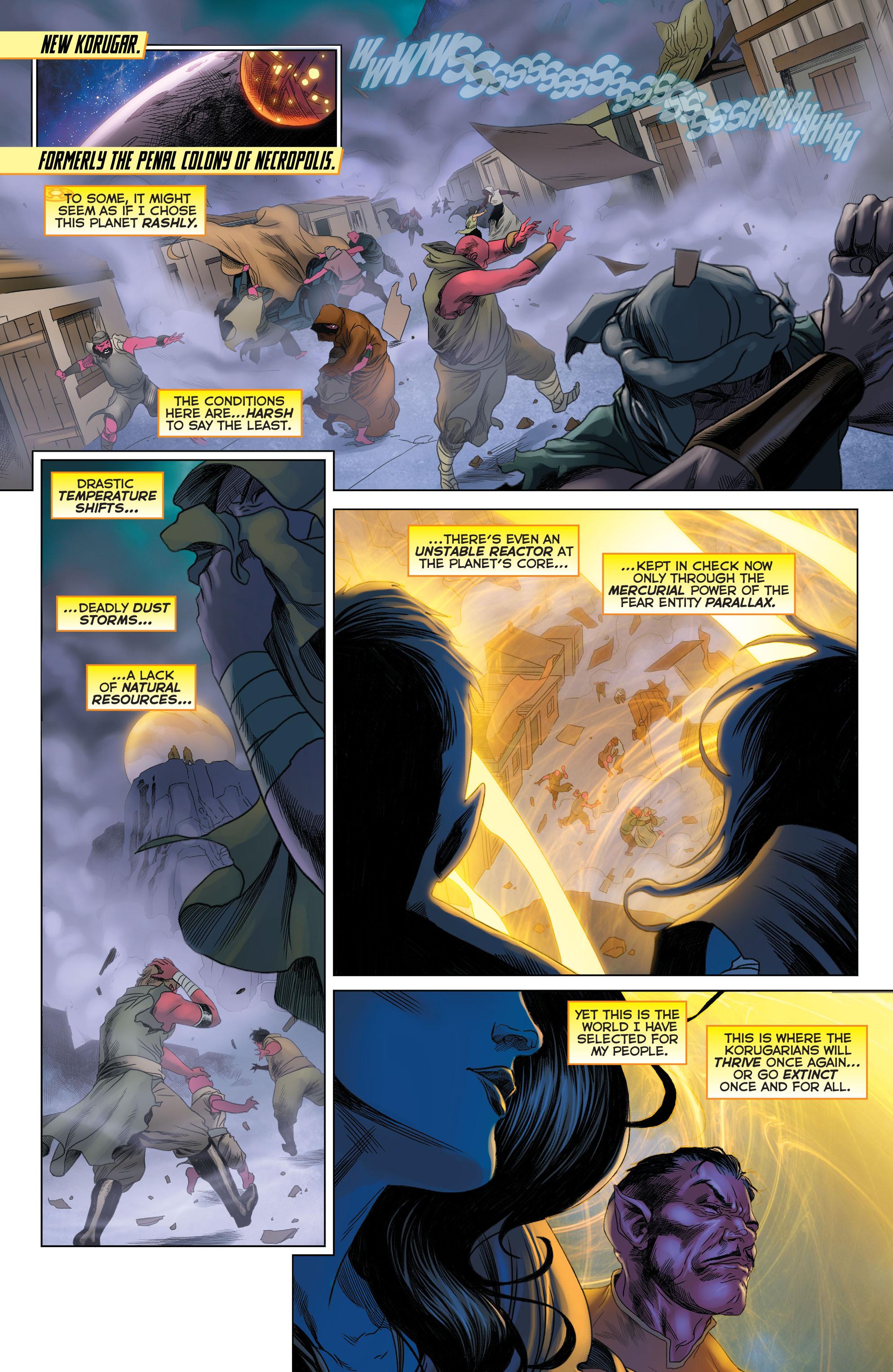 Read online Sinestro comic -  Issue #23 - 3