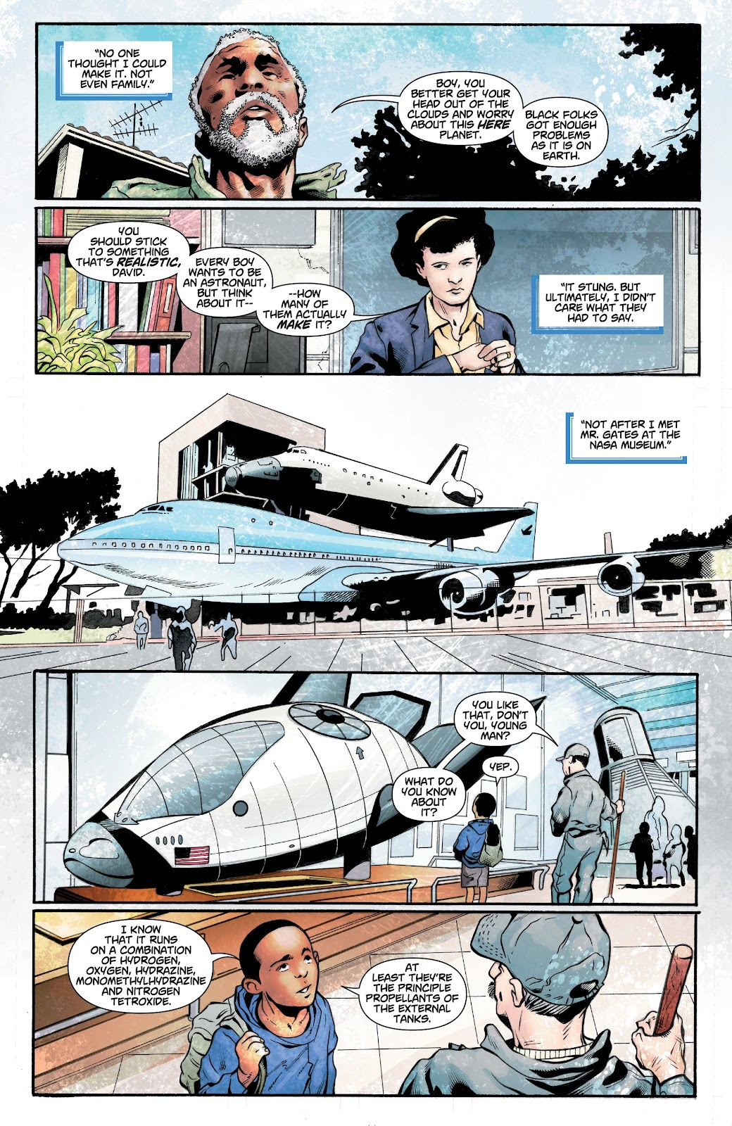 Read online Noble comic -  Issue #15 - 7