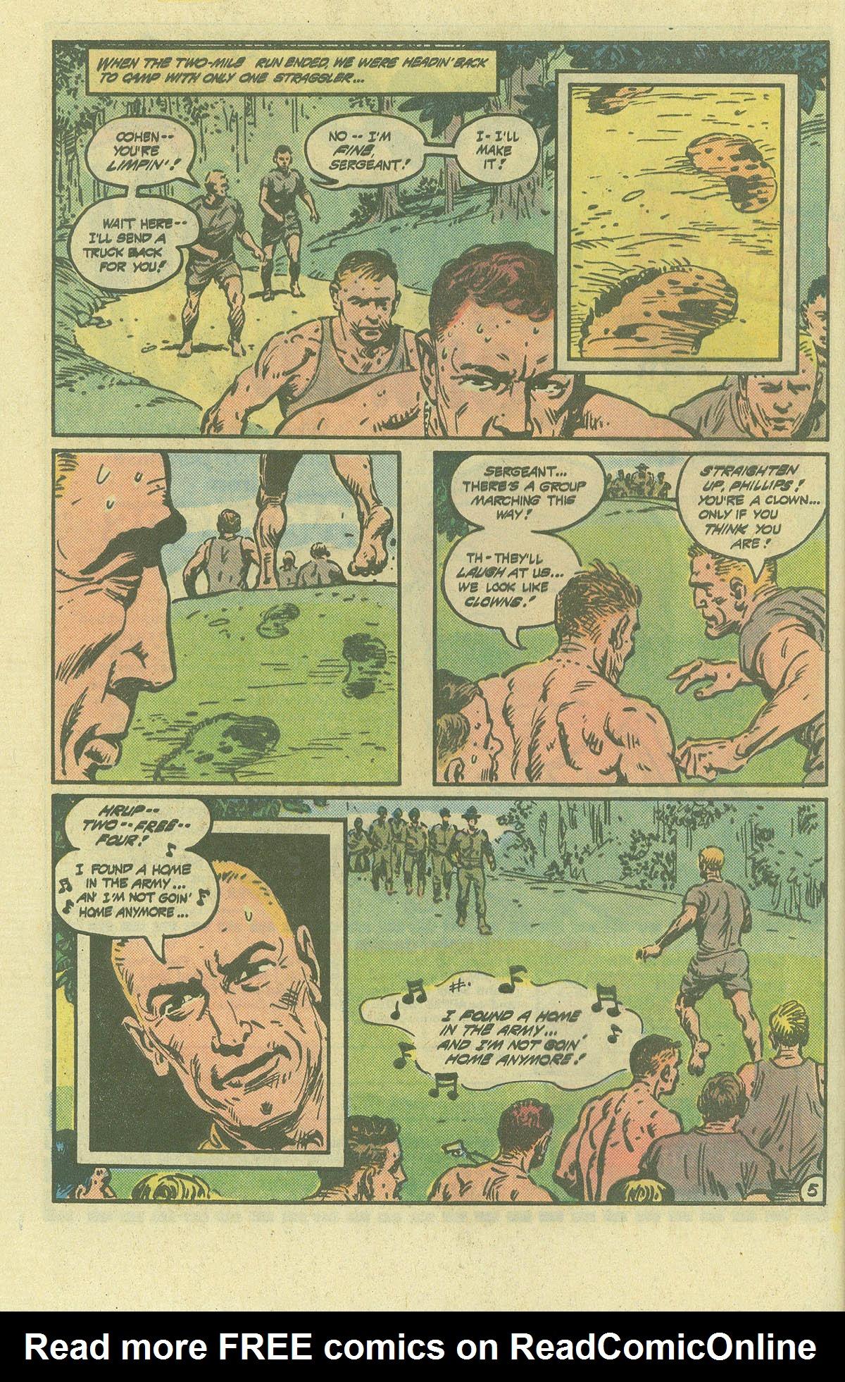 Read online Sgt. Rock comic -  Issue #392 - 5