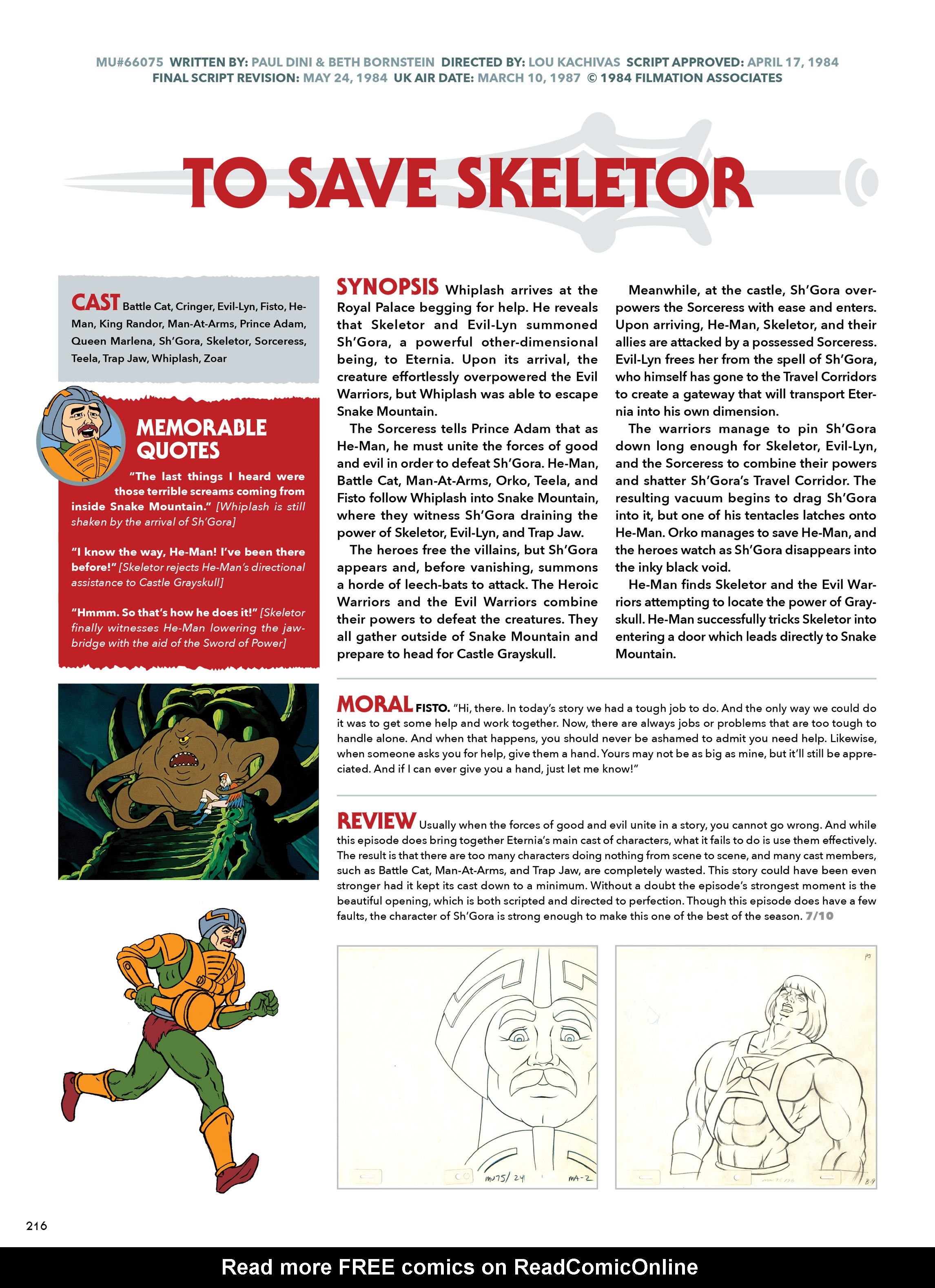 Read online He-Man and She-Ra: A Complete Guide to the Classic Animated Adventures comic -  Issue # TPB (Part 2) - 17
