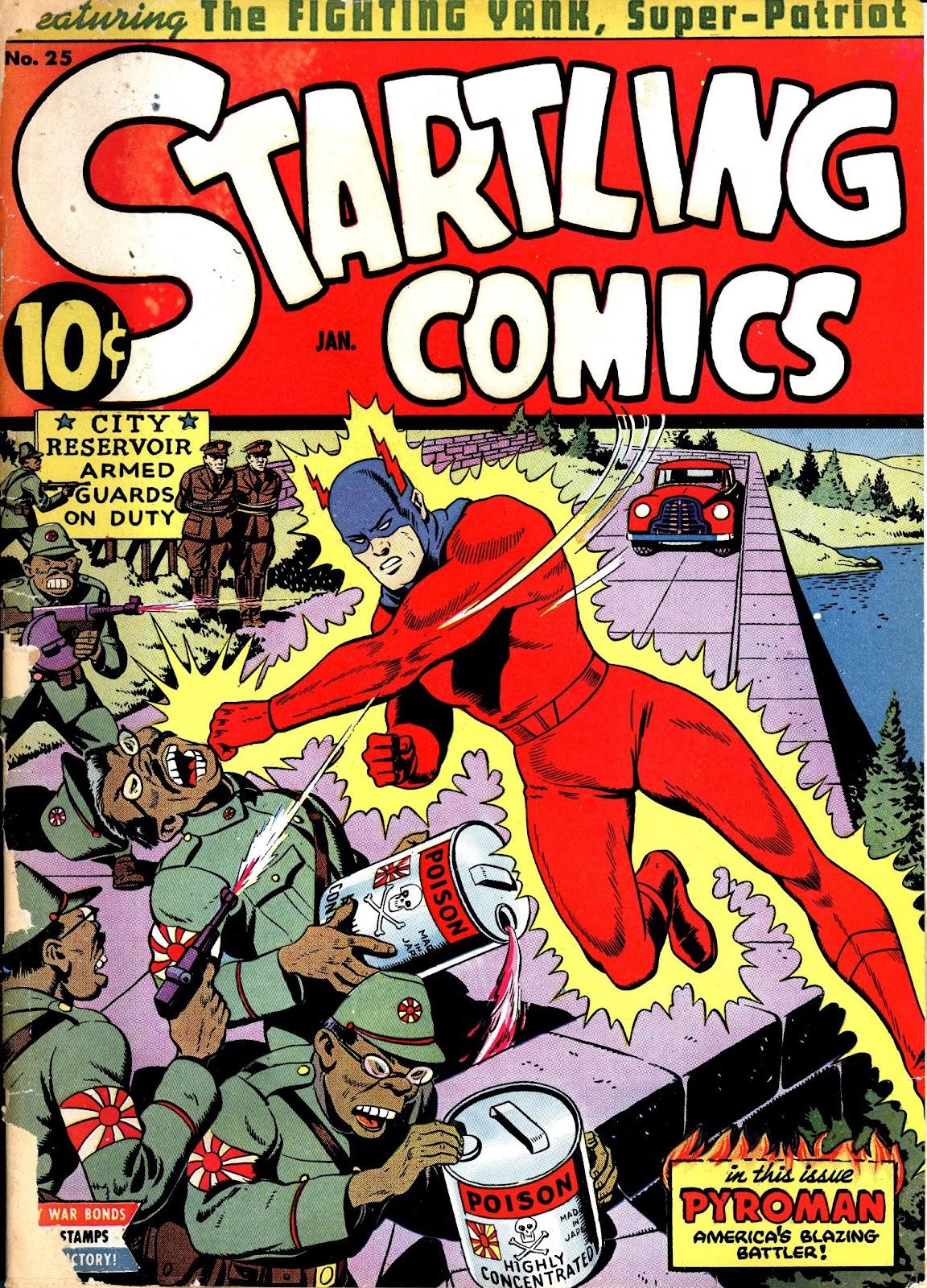 Startling Comics 25 Page 1