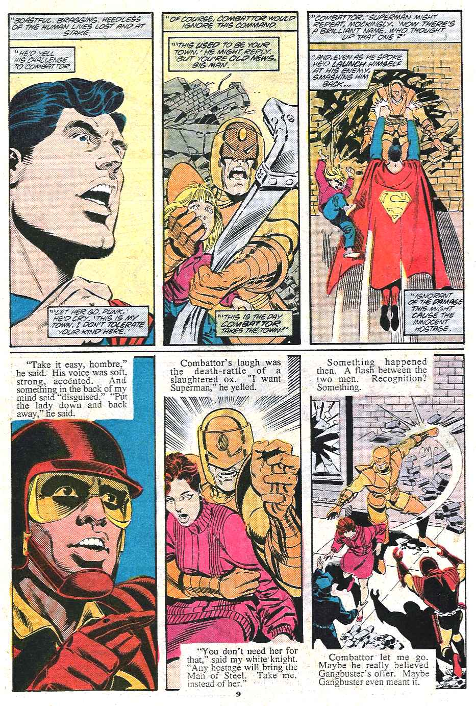 Read online Adventures of Superman (1987) comic -  Issue #437 - 9