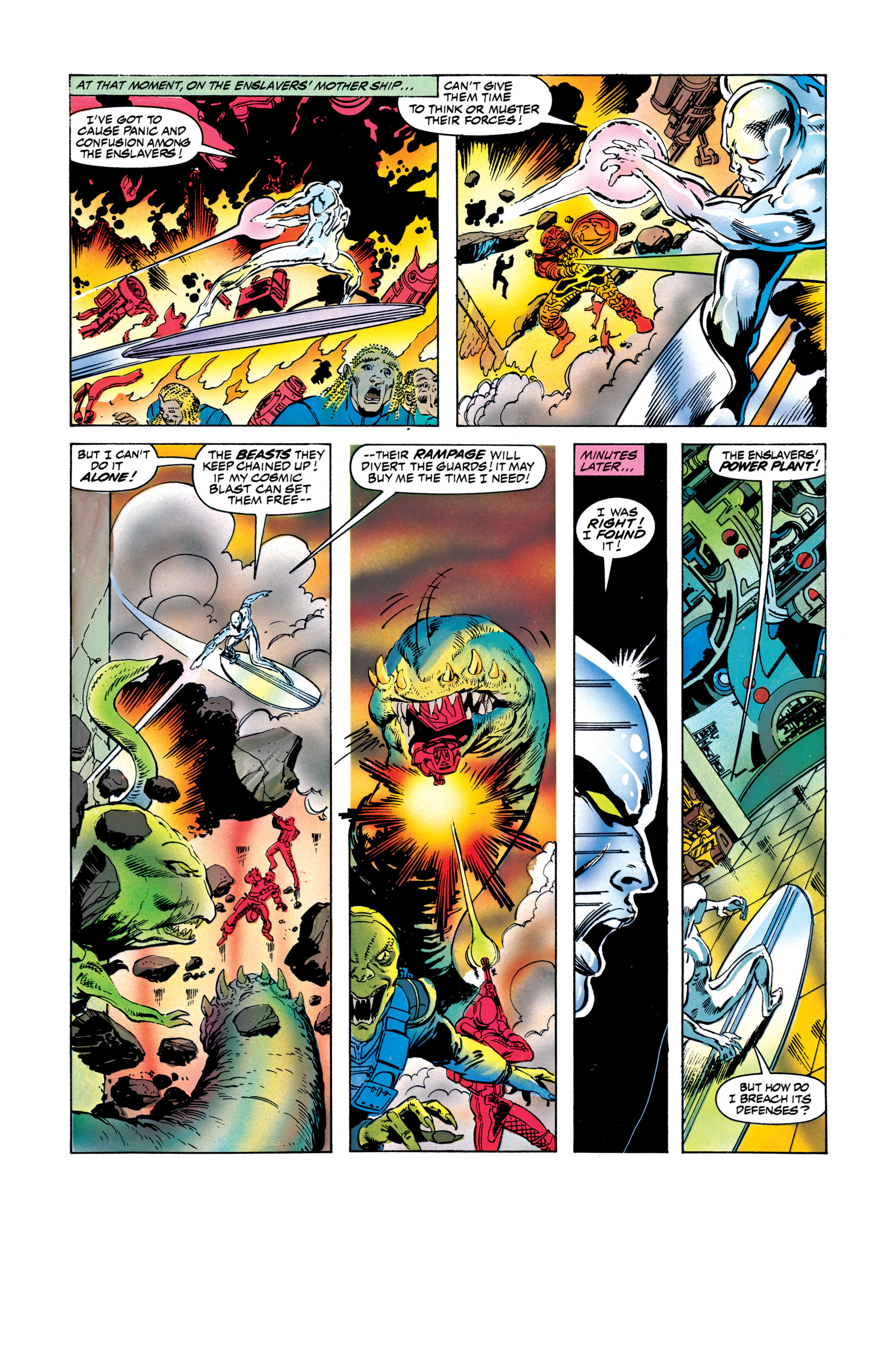 Read online Silver Surfer: Parable comic -  Issue # TPB - 118