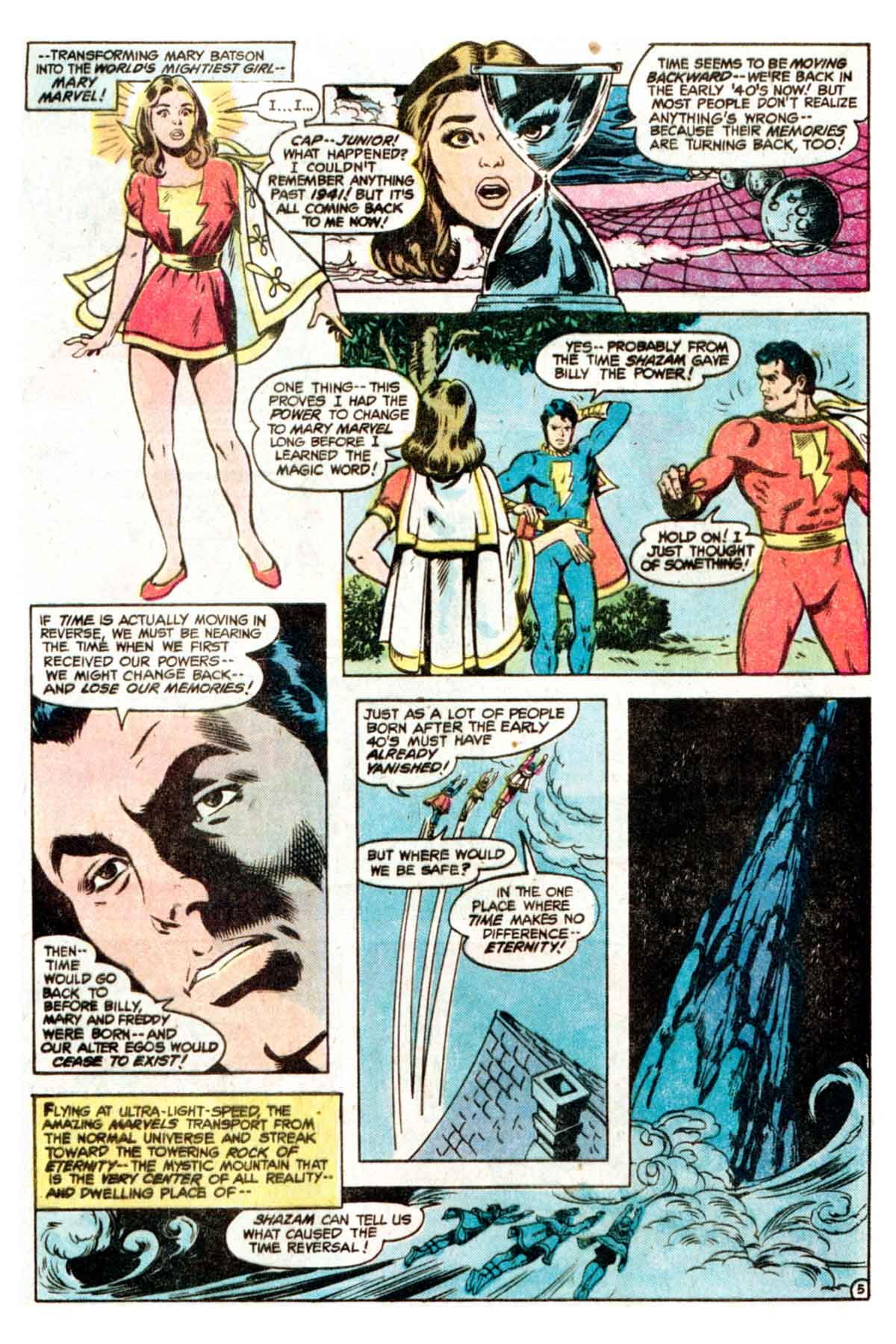 Read online Shazam! (1973) comic -  Issue #35 - 6