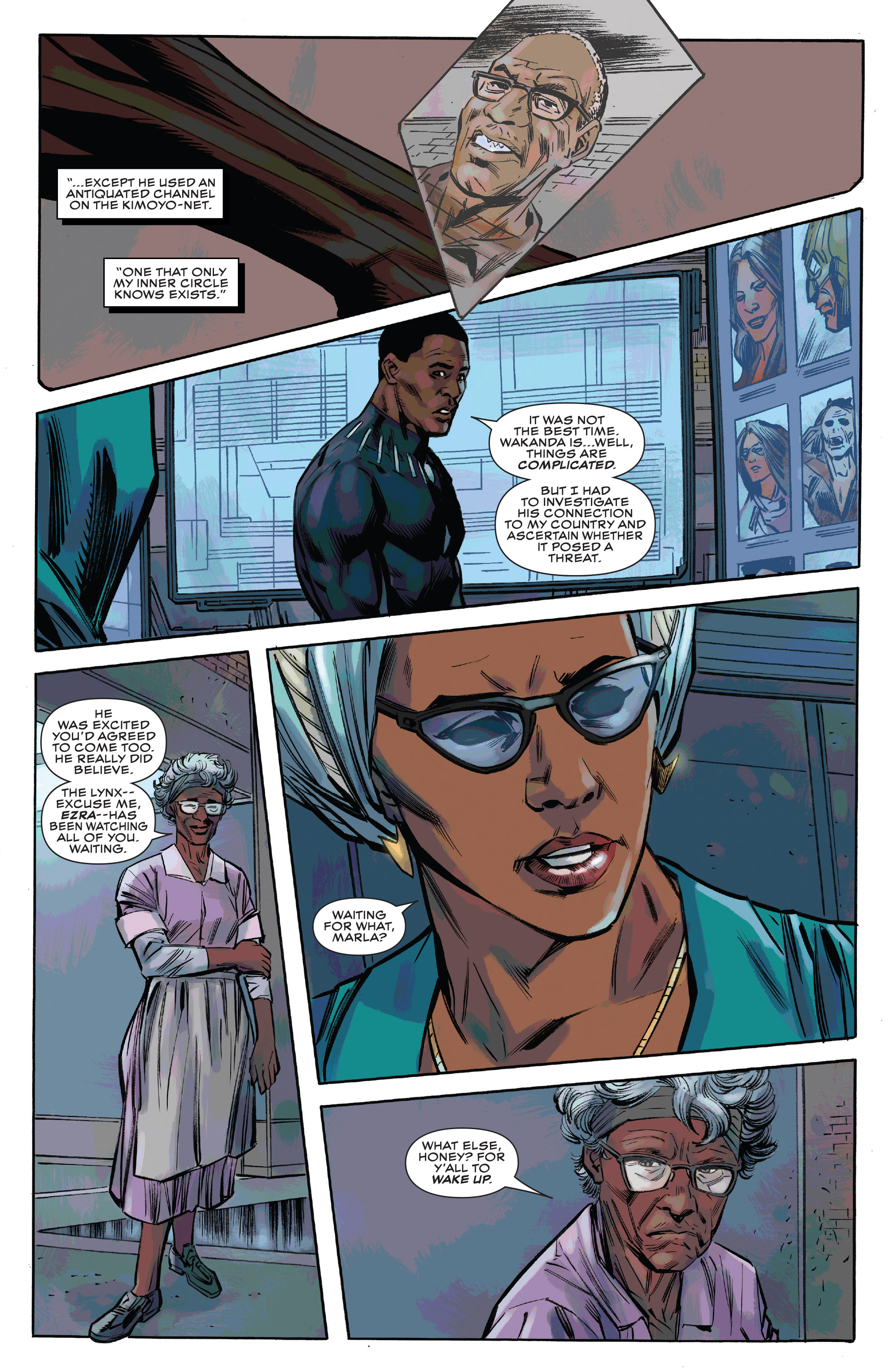 Read online Black Panther and the Crew comic -  Issue #3 - 8