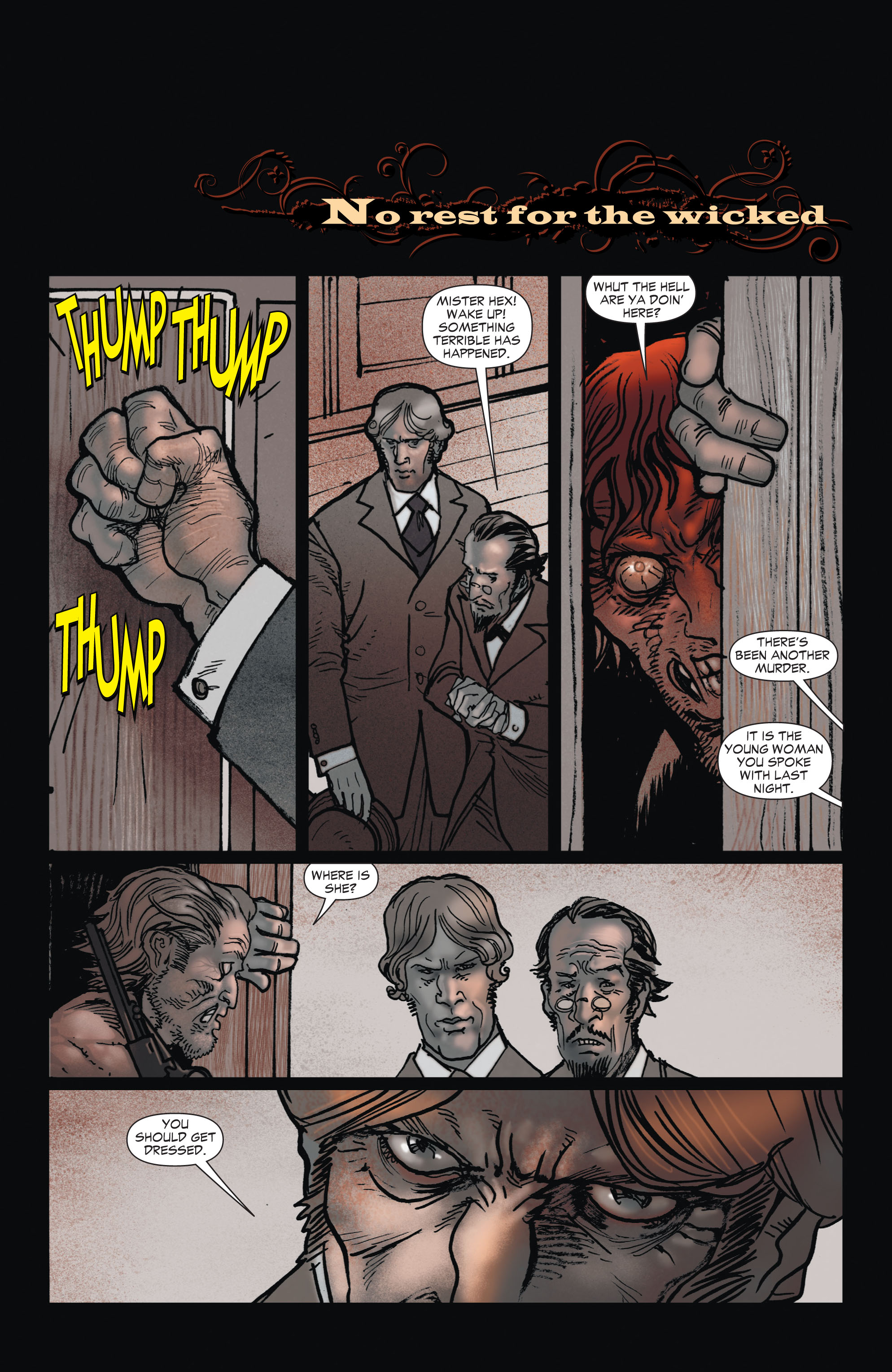 Read online All-Star Western (2011) comic -  Issue #1 - 20