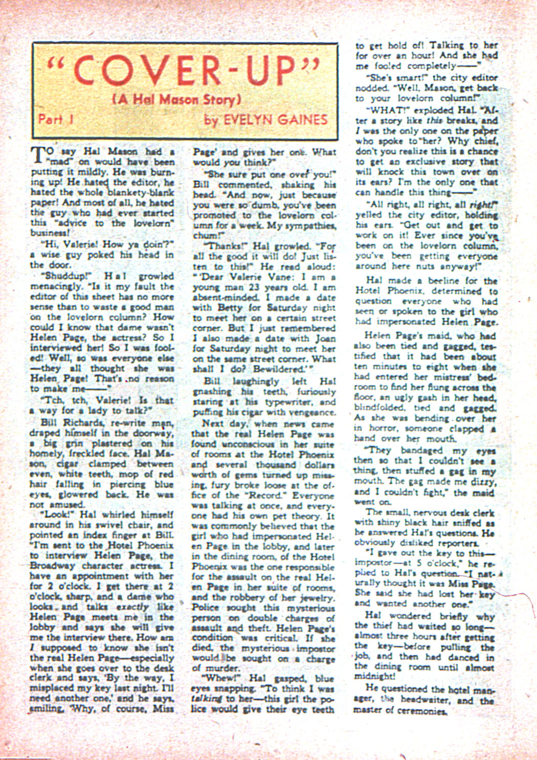 Read online Sensation (Mystery) Comics comic -  Issue #2 - 46