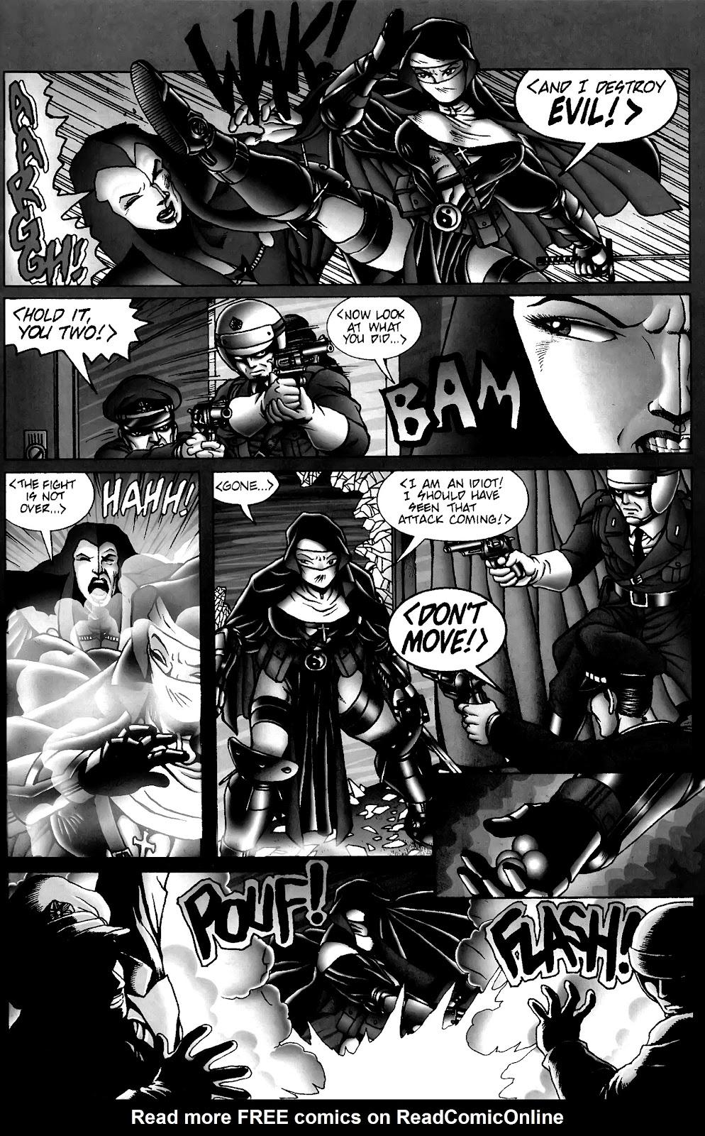 Warrior Nun Areala:  Dangerous Game Issue #3 #3 - English 23