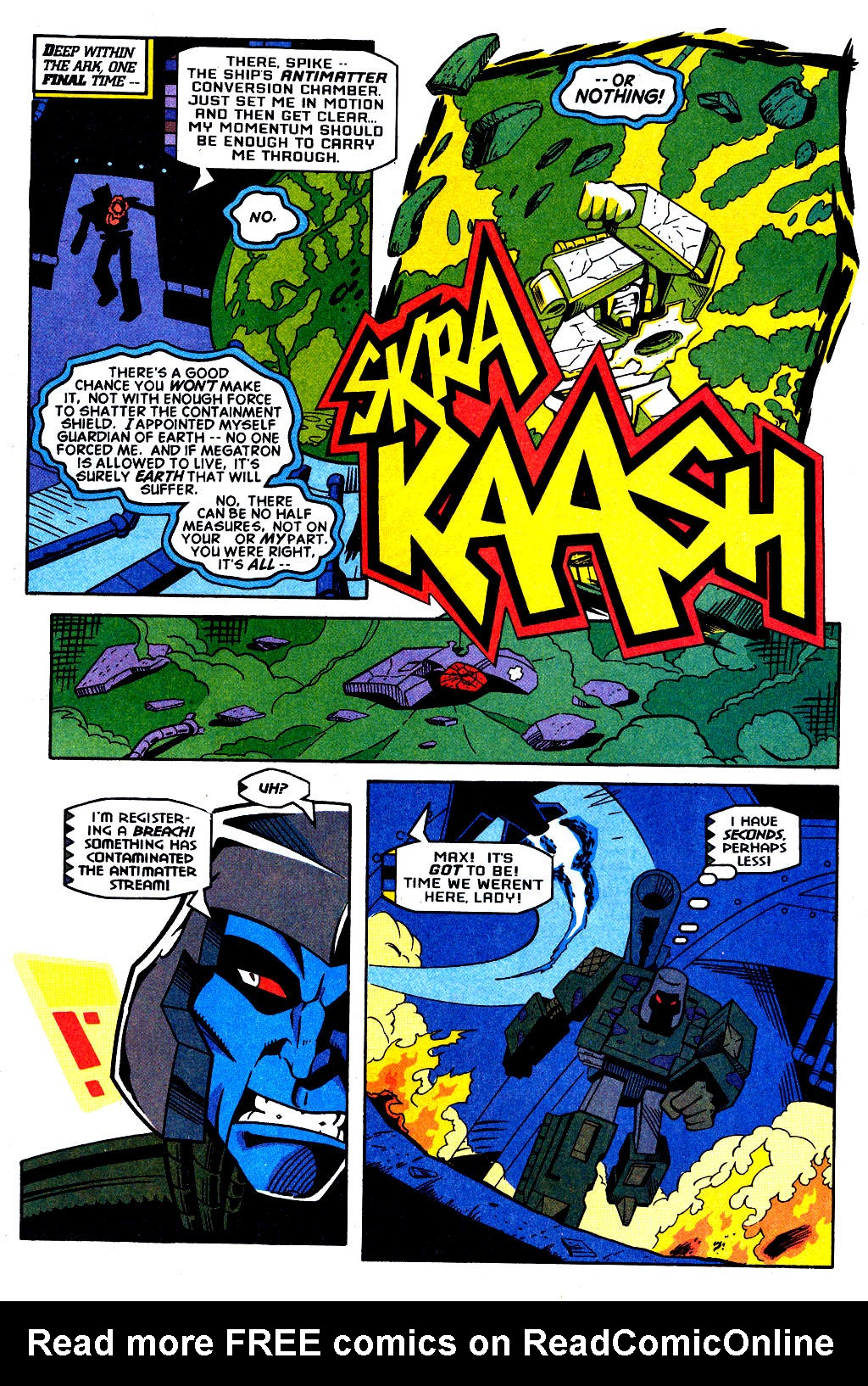 Read online Transformers: Generation 2 comic -  Issue #2 - 16