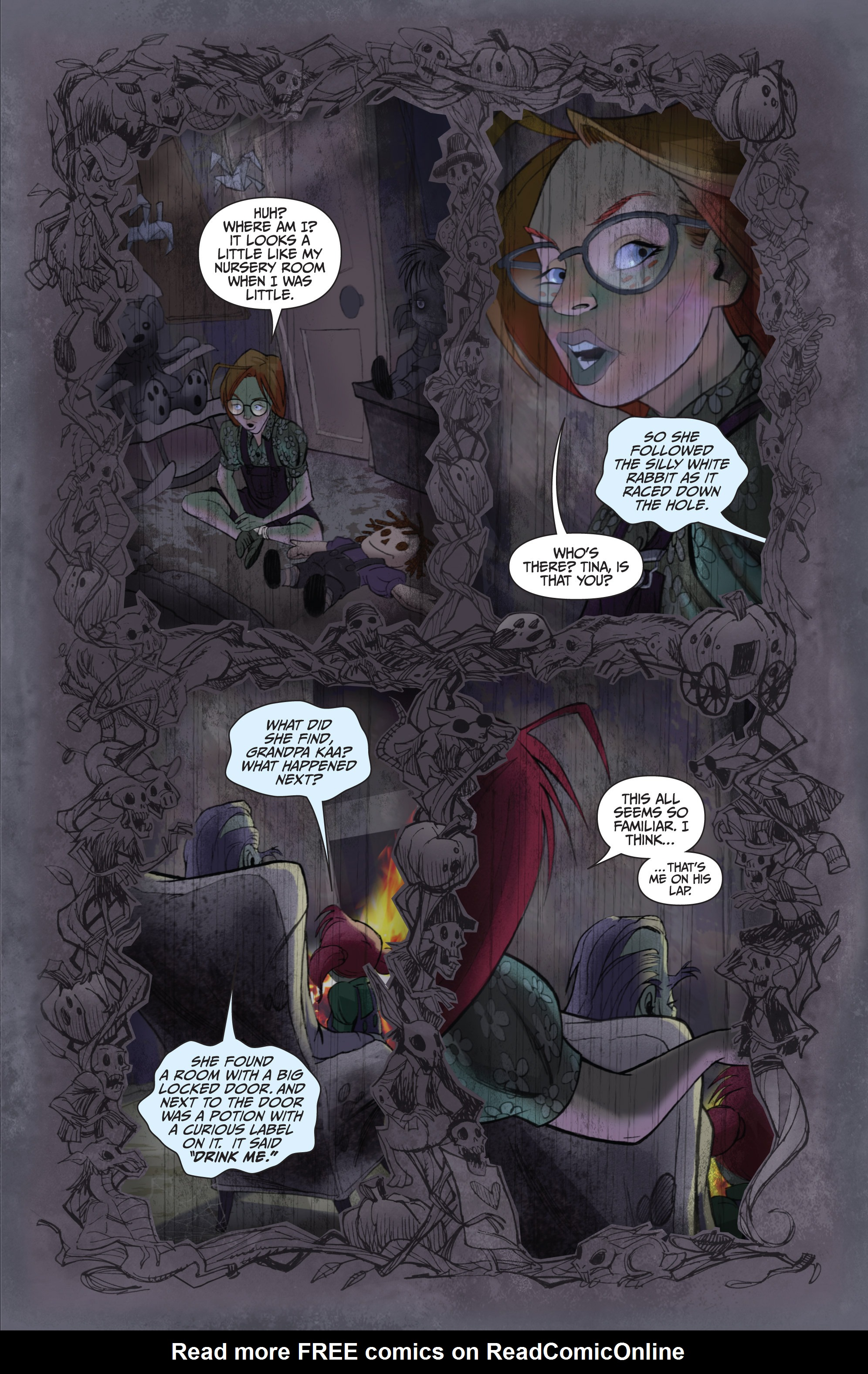 Read online Legendary Talespinners comic -  Issue #1 - 14