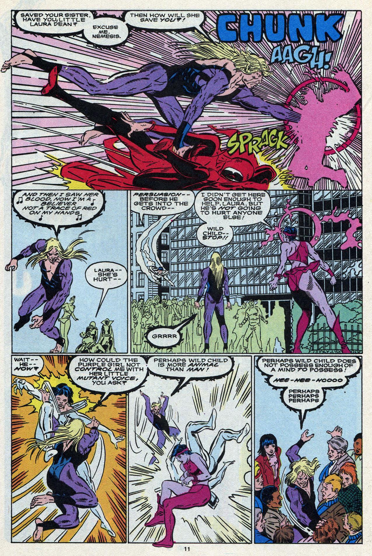 Read online Alpha Flight (1983) comic -  Issue #87 - 13
