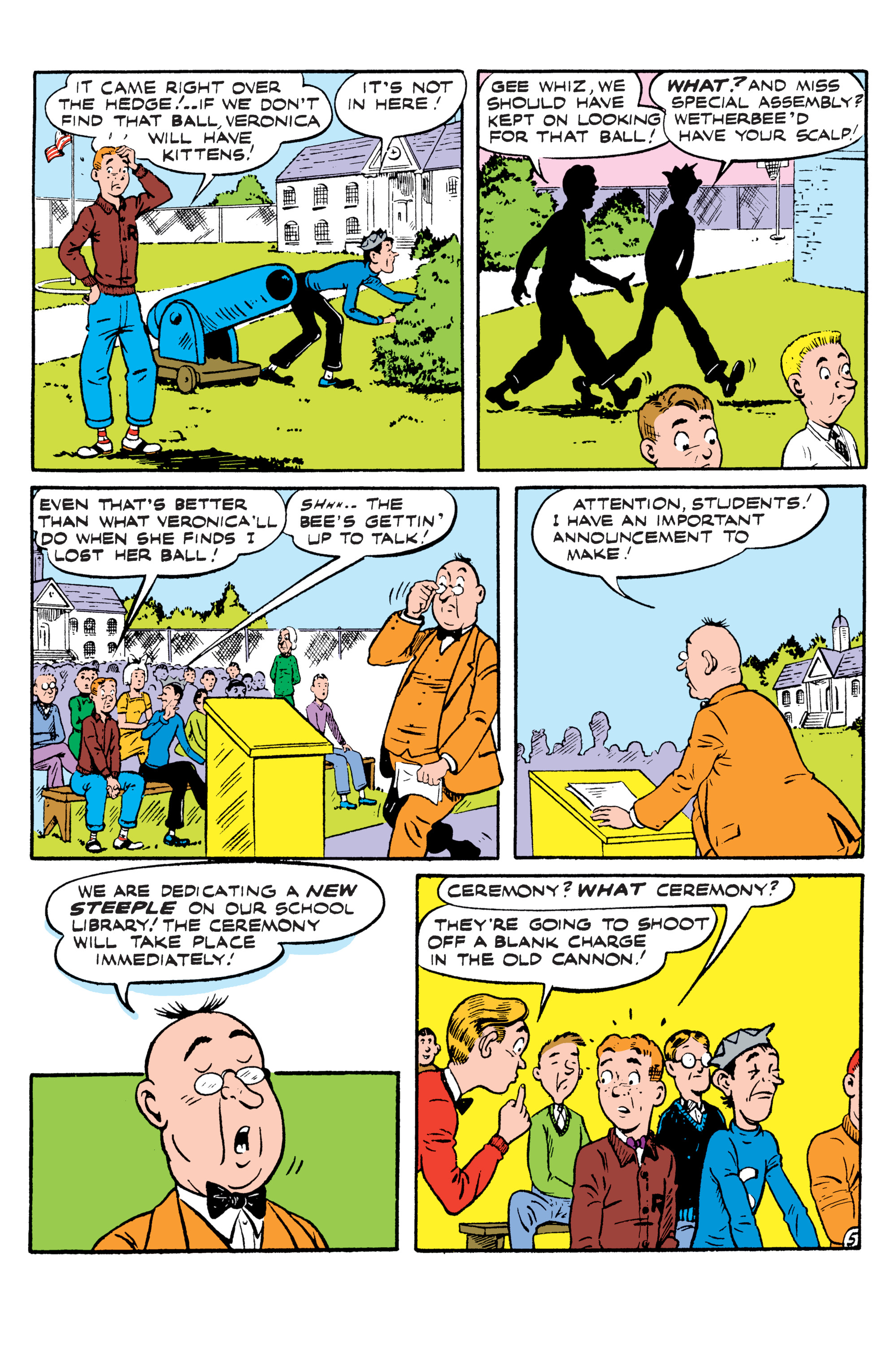 Read online Archie (2015) comic -  Issue #5 - 30