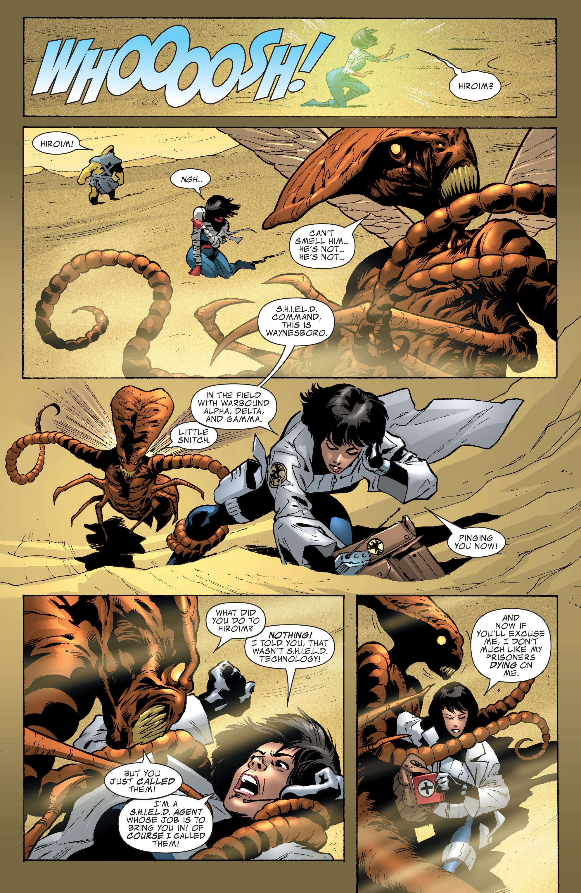 Read online World War Hulk Aftersmash: Warbound, Vol. 1 comic -  Issue #1 - 9