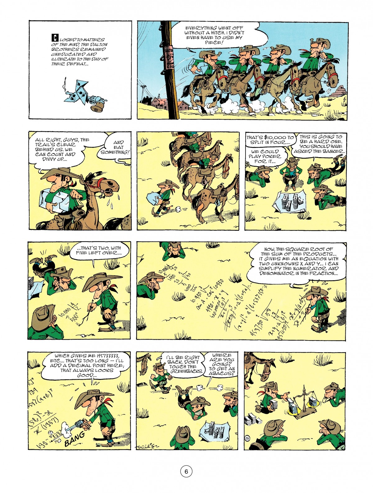 Read online A Lucky Luke Adventure comic -  Issue #47 - 6
