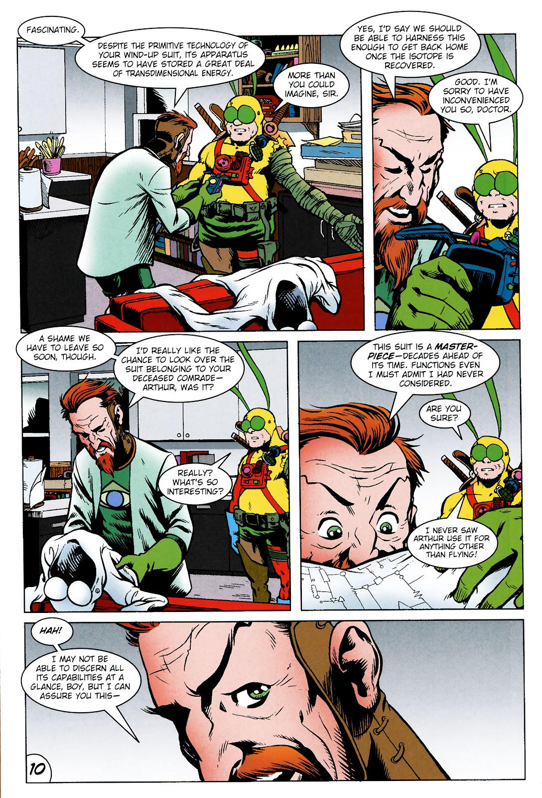 Read online The Tick comic -  Issue #101 - 13