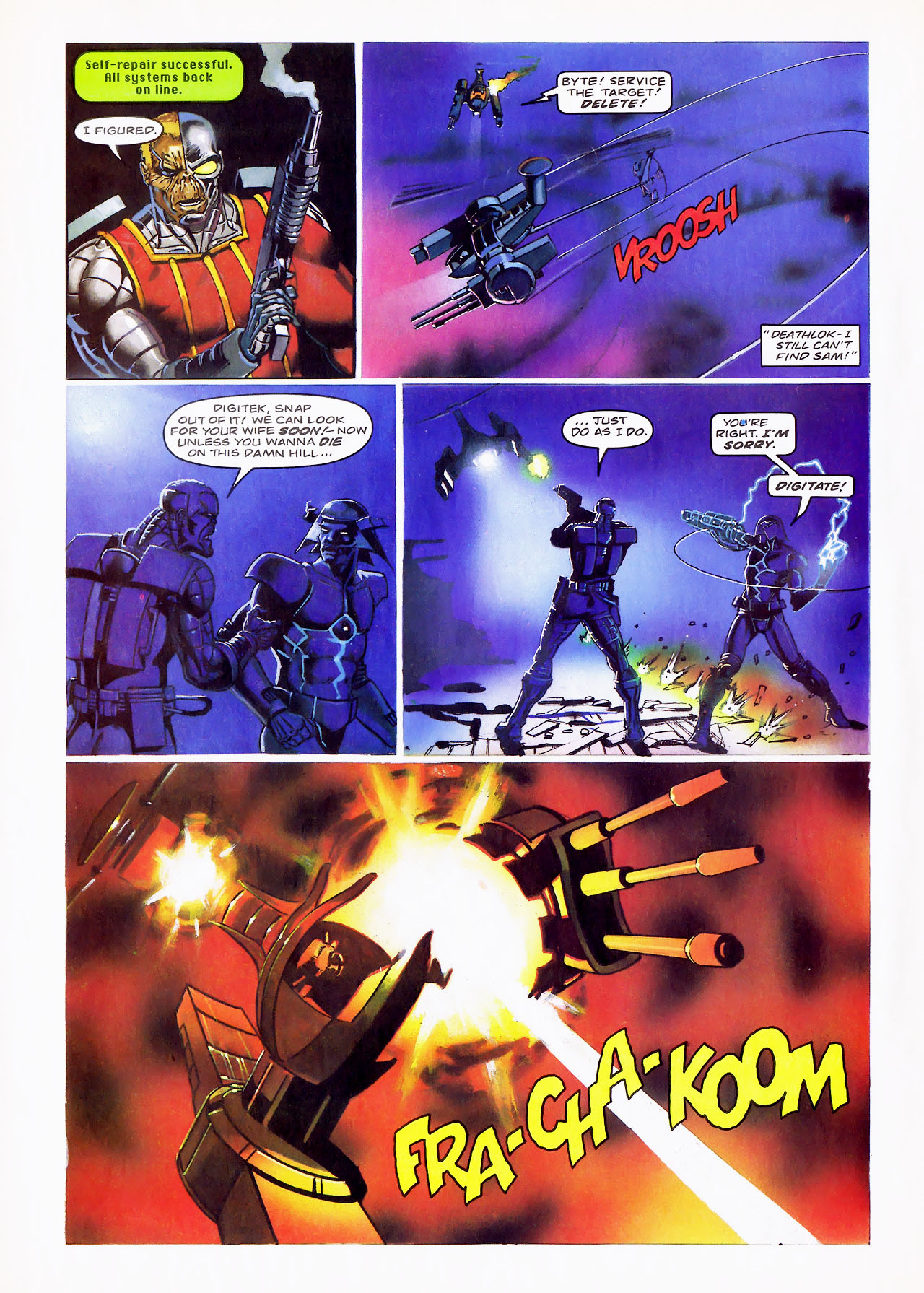 Read online Overkill comic -  Issue #15 - 20
