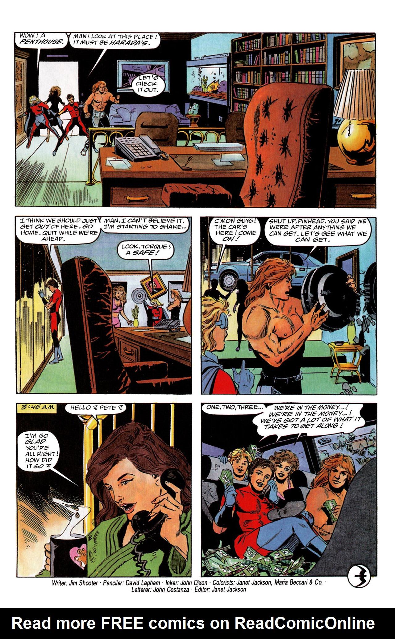 Read online Harbinger (1992) comic -  Issue #2 - 25