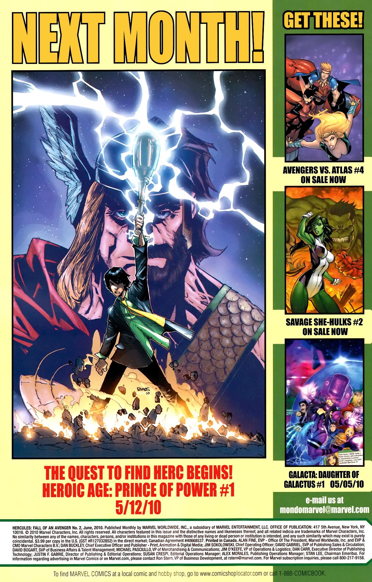 Read online Hercules: Fall of an Avenger comic -  Issue #2 - 33