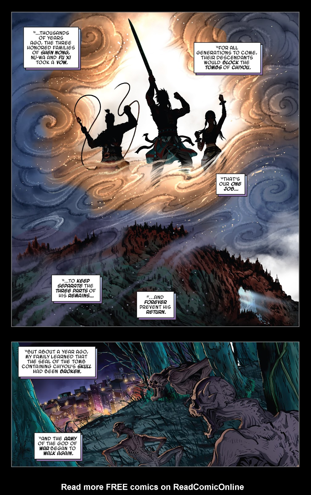 Read online Sword Master comic -  Issue #4 - 18