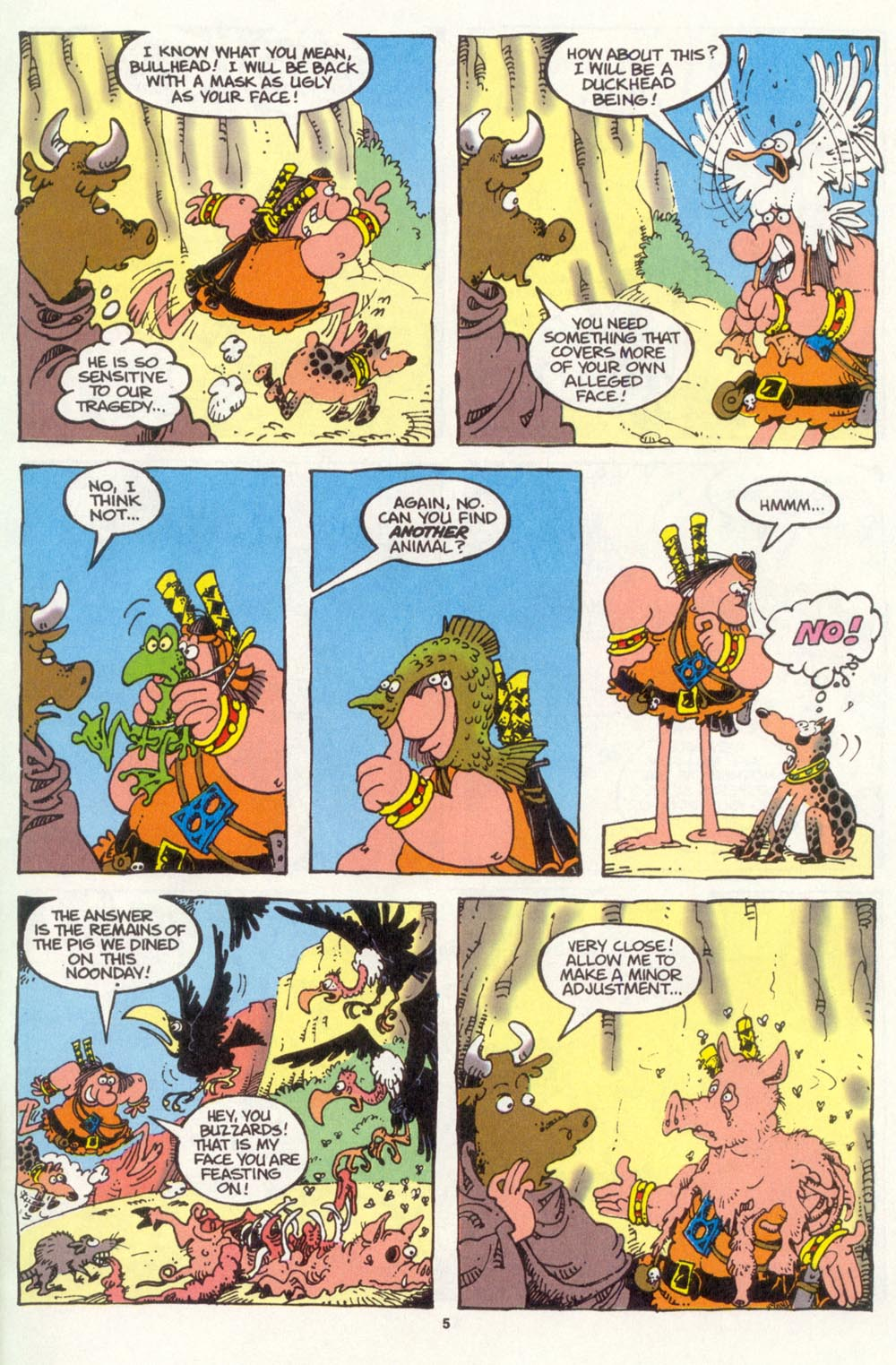 Read online Sergio Aragonés Groo the Wanderer comic -  Issue #105 - 7