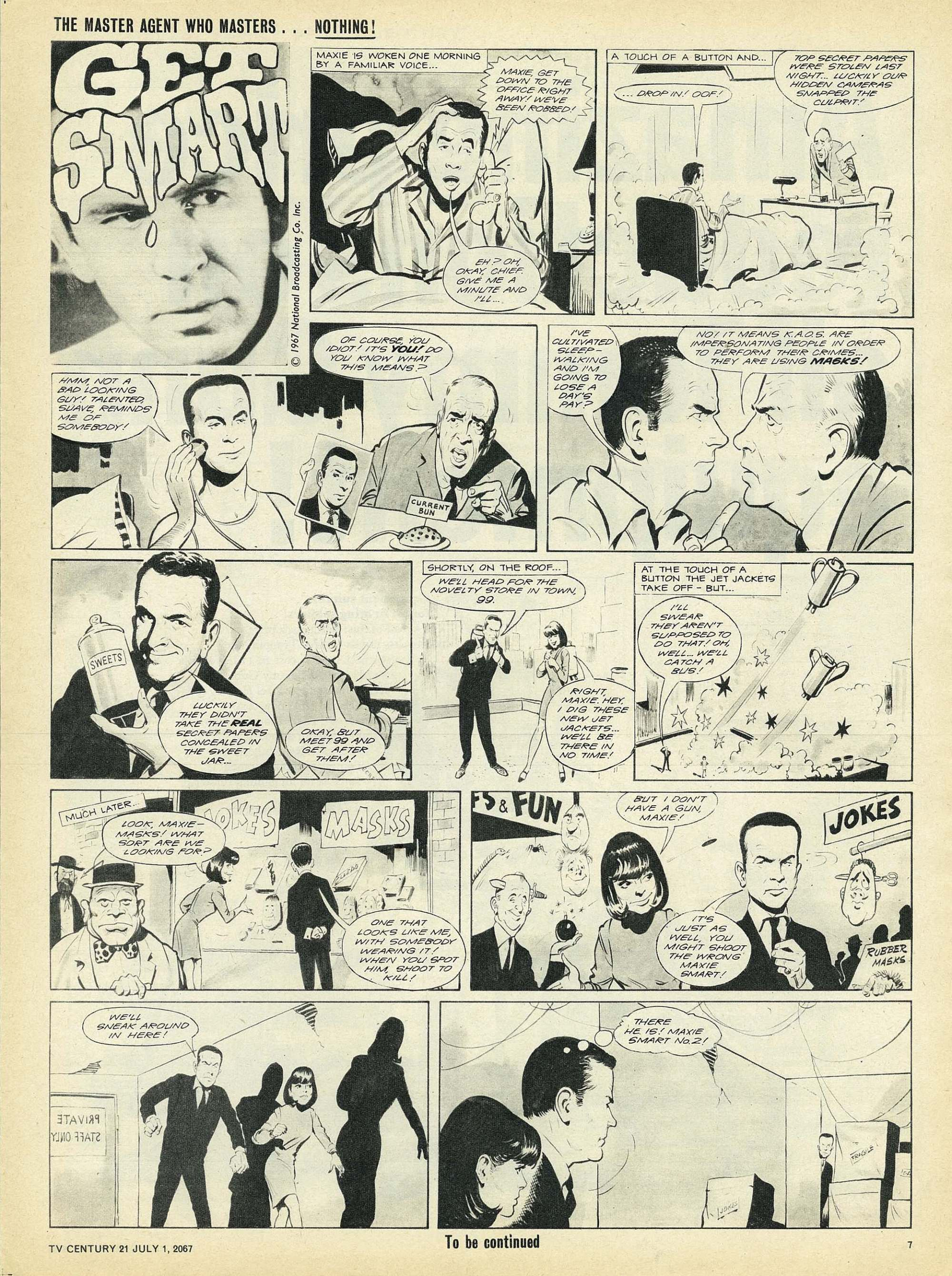 Read online TV Century 21 (TV 21) comic -  Issue #128 - 7
