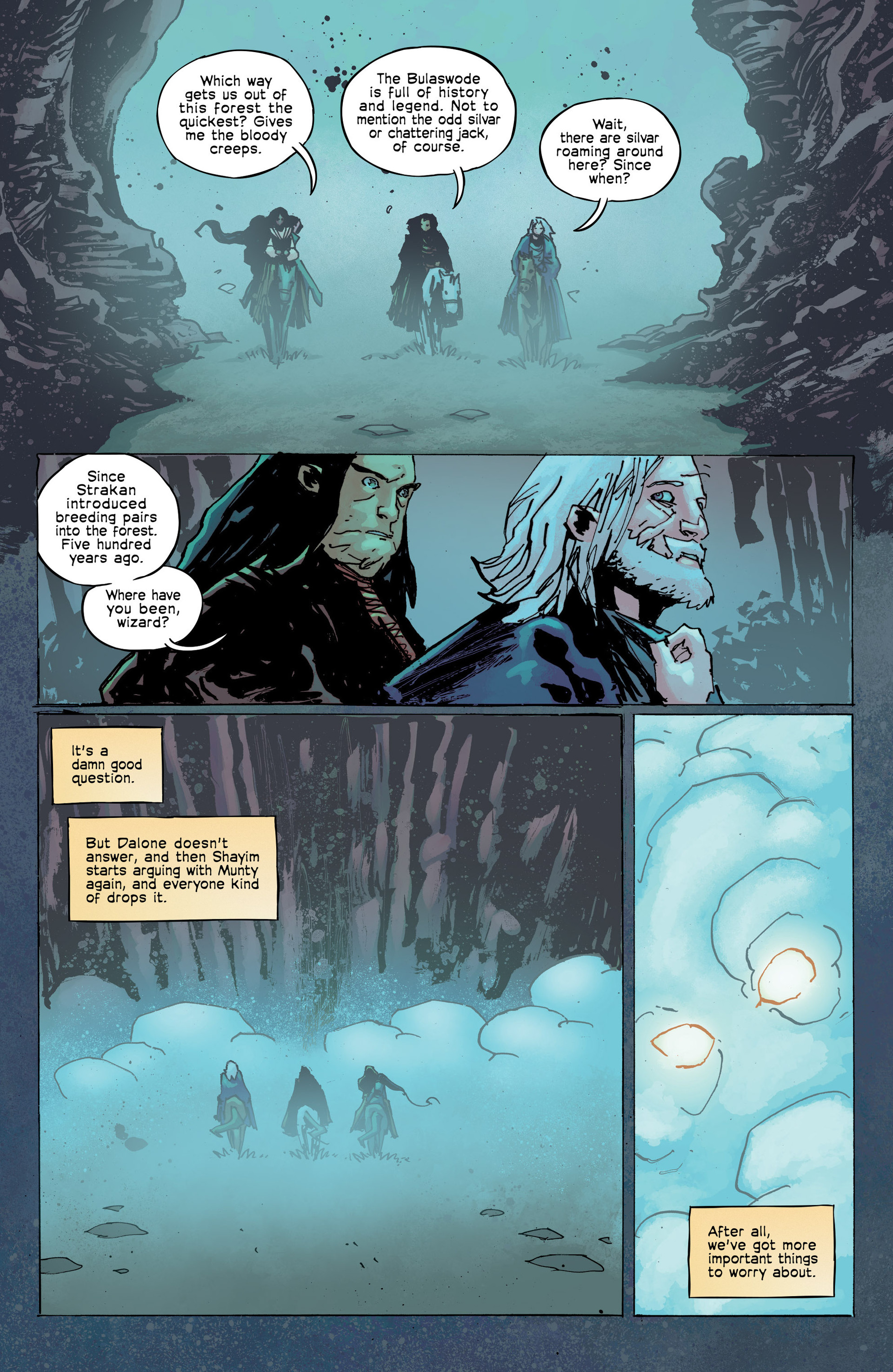 Read online Umbral comic -  Issue #8 - 10