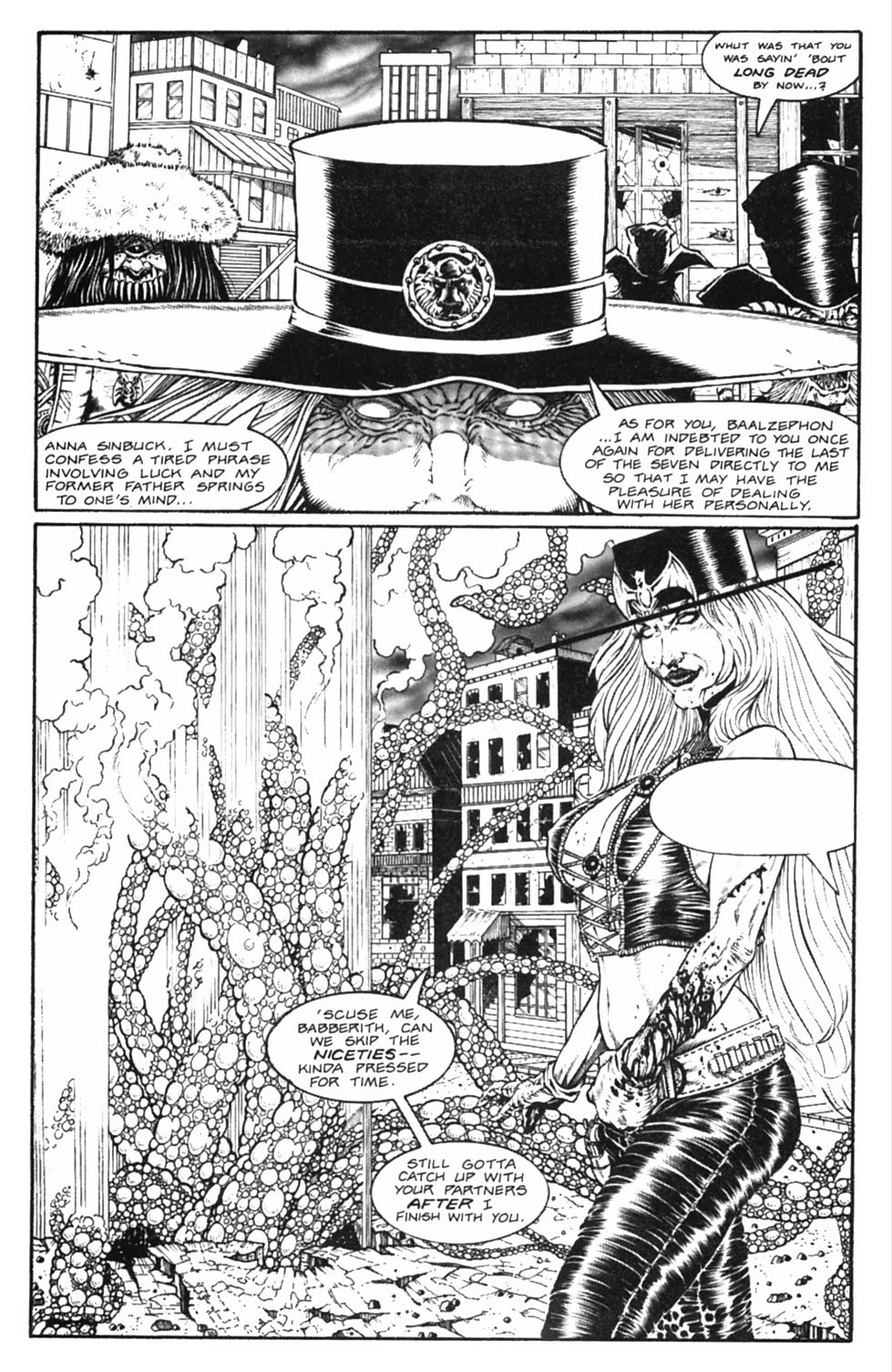 Read online Gunfighters in Hell comic -  Issue #5 - 30