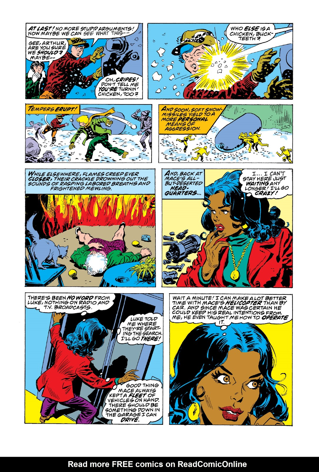Read online Marvel Masterworks: Luke Cage, Power Man comic -  Issue # TPB 3 (Part 3) - 92
