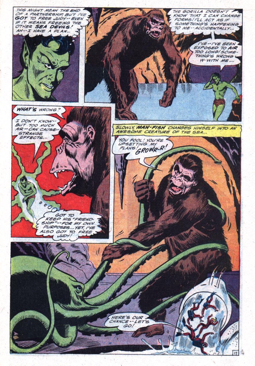 Read online Sea Devils comic -  Issue #30 - 22