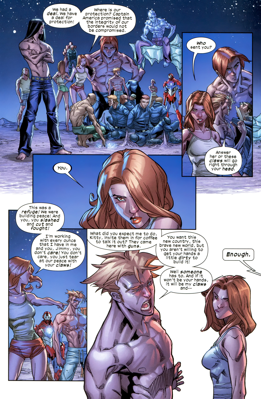Read online Ultimate Comics X-Men comic -  Issue #21 - 20