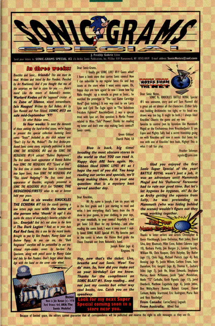 Read online Sonic Super Special comic -  Issue #2 - Brave new world - 42