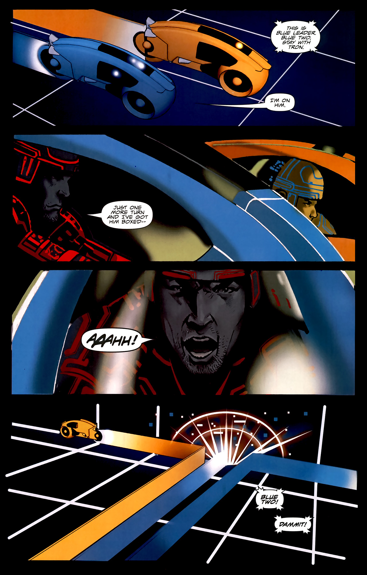 Read online TRON: Original Movie Adaptation comic -  Issue #2 - 8