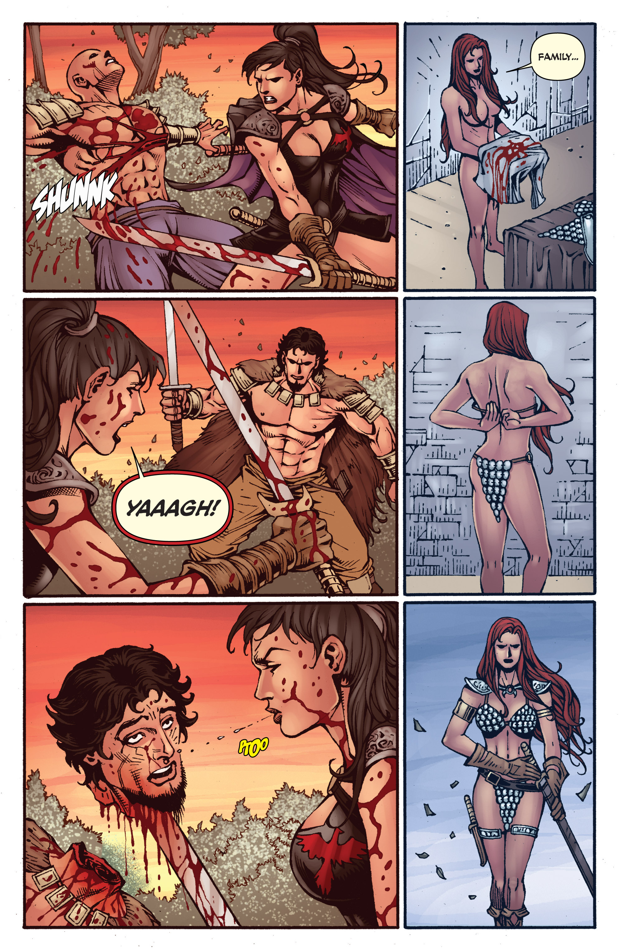 Read online Red Sonja: Sanctuary comic -  Issue # Full - 22