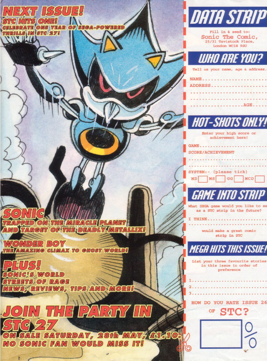 Read online Sonic the Comic comic -  Issue #26 - 31