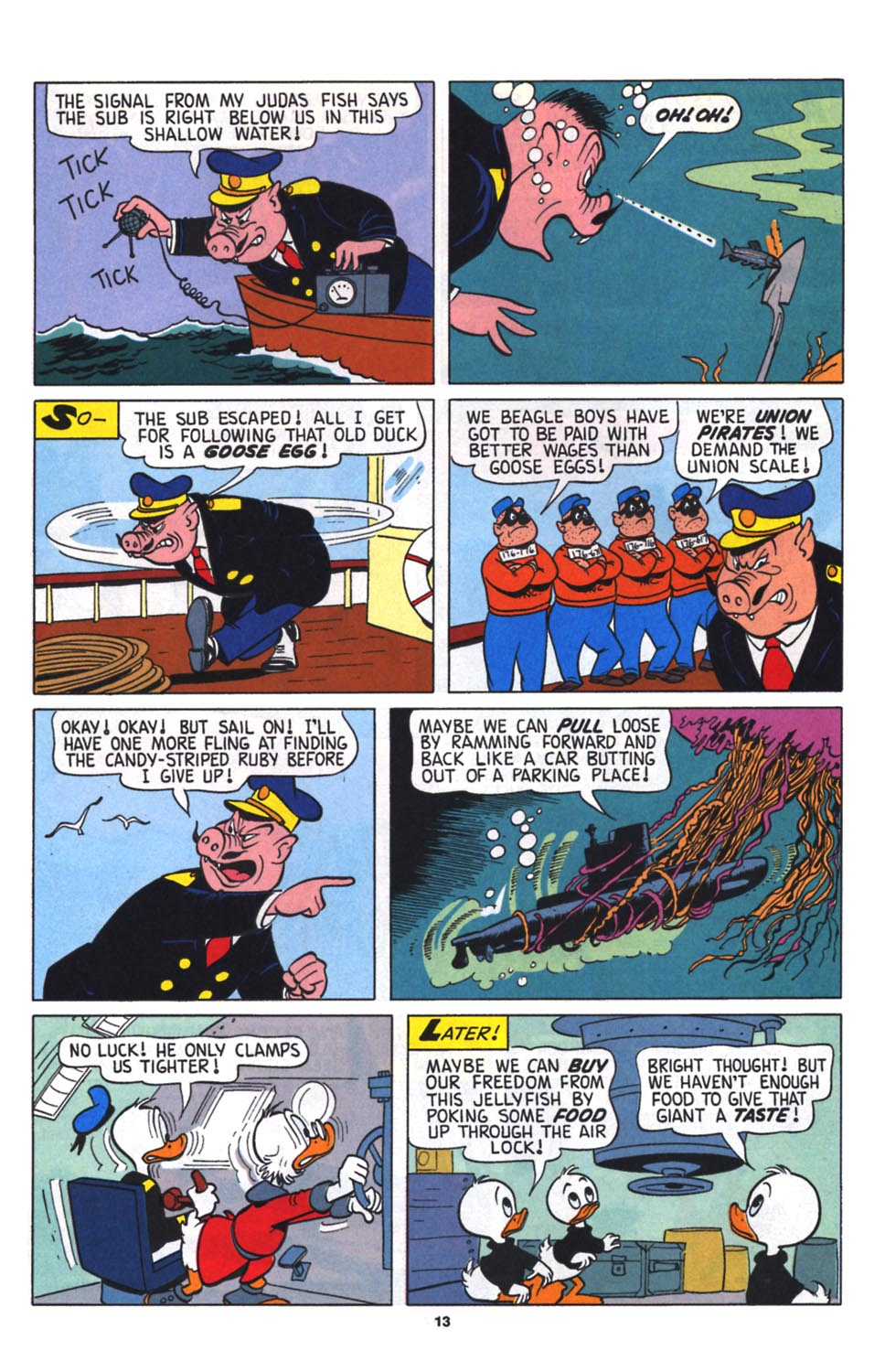 Read online Uncle Scrooge (1953) comic -  Issue #256 - 14