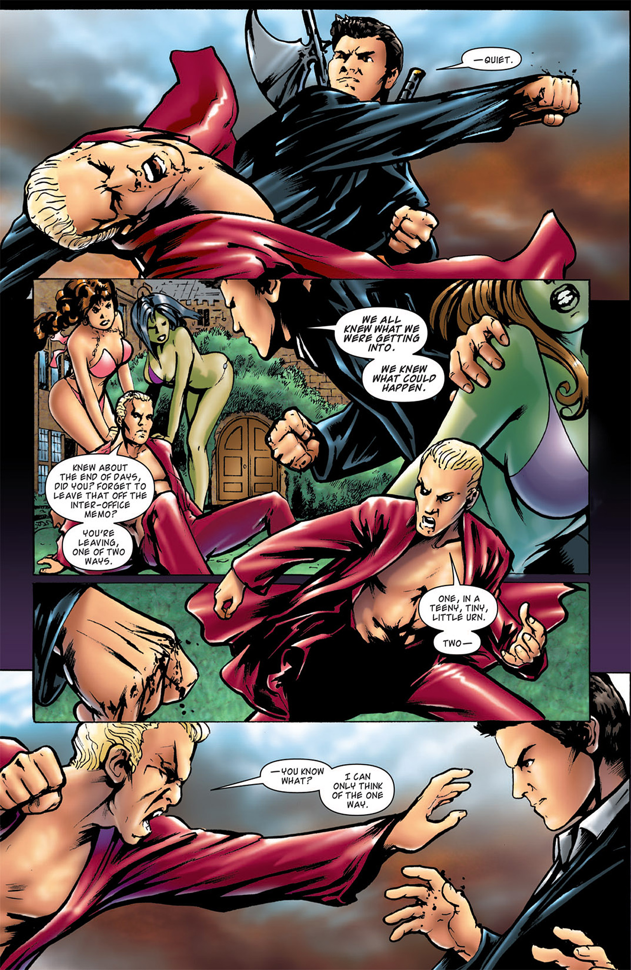 Read online Angel: After The Fall comic -  Issue #2 - 23